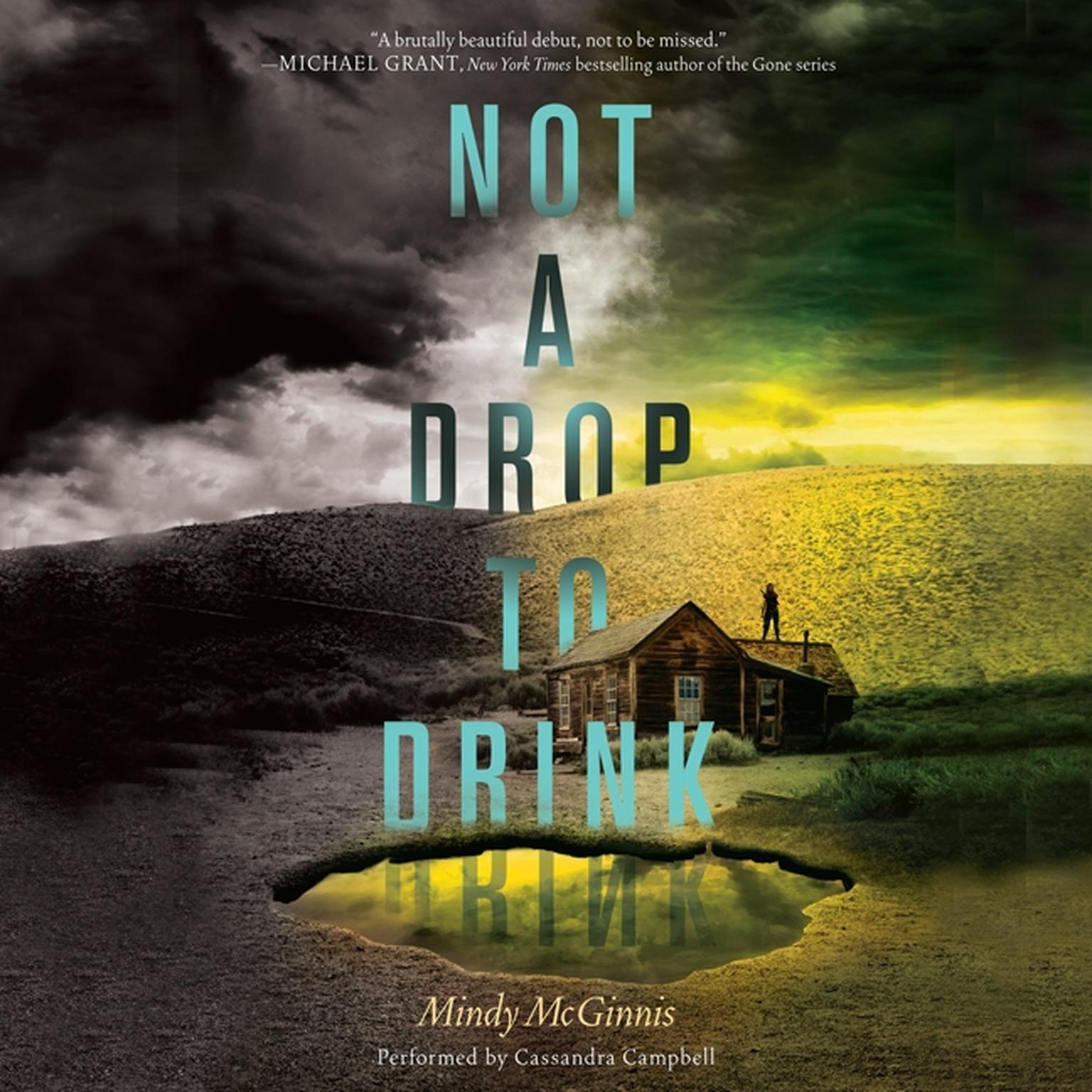 Printable Not a Drop to Drink Audiobook Cover Art
