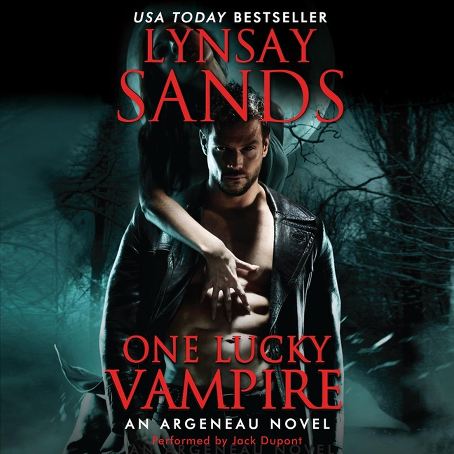 Printable One Lucky Vampire Audiobook Cover Art