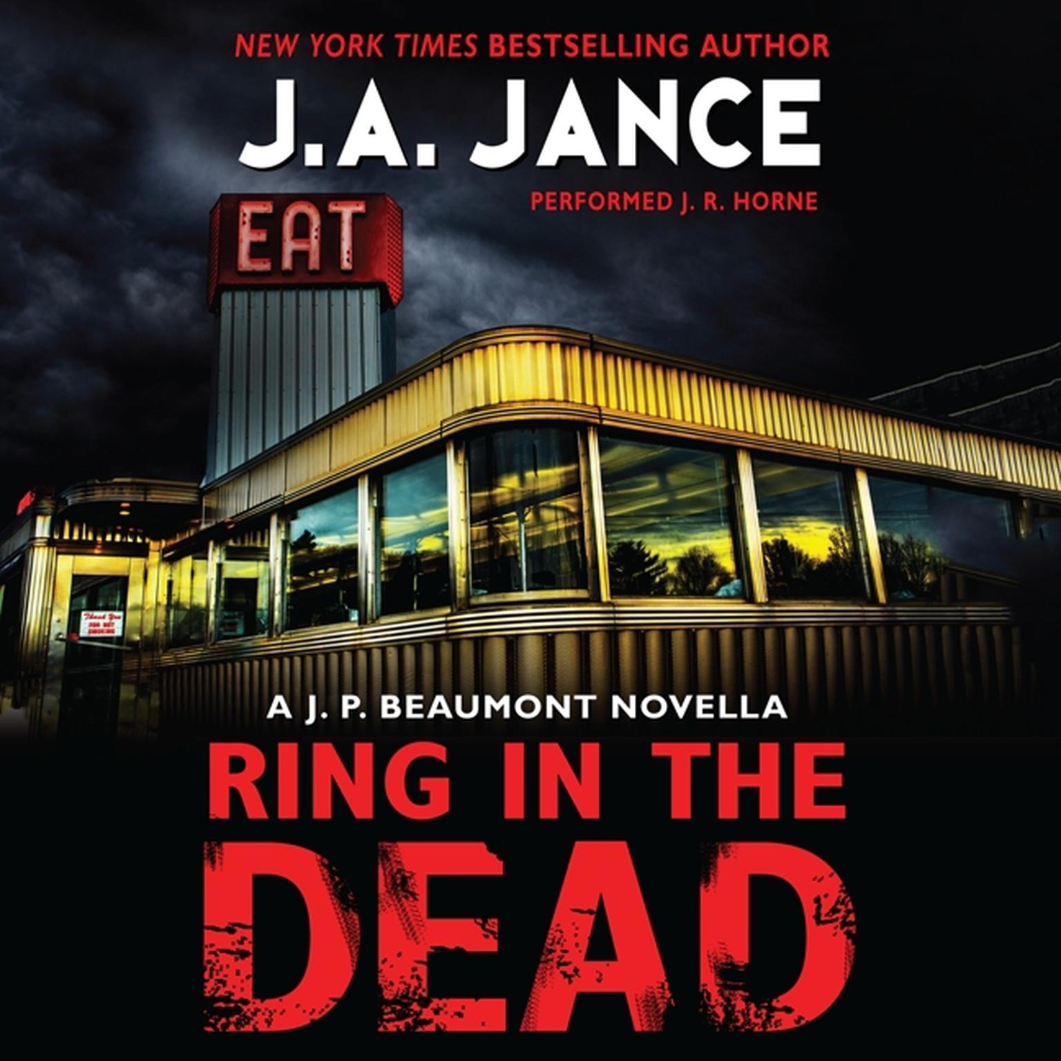 Printable Ring In the Dead: A J. P. Beaumont Novella Audiobook Cover Art