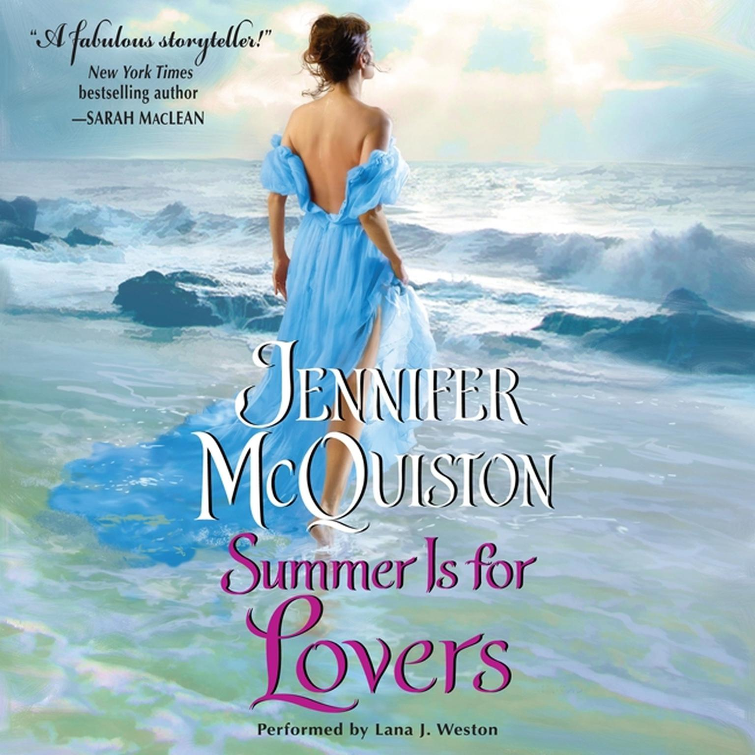 Printable Summer Is for Lovers Audiobook Cover Art