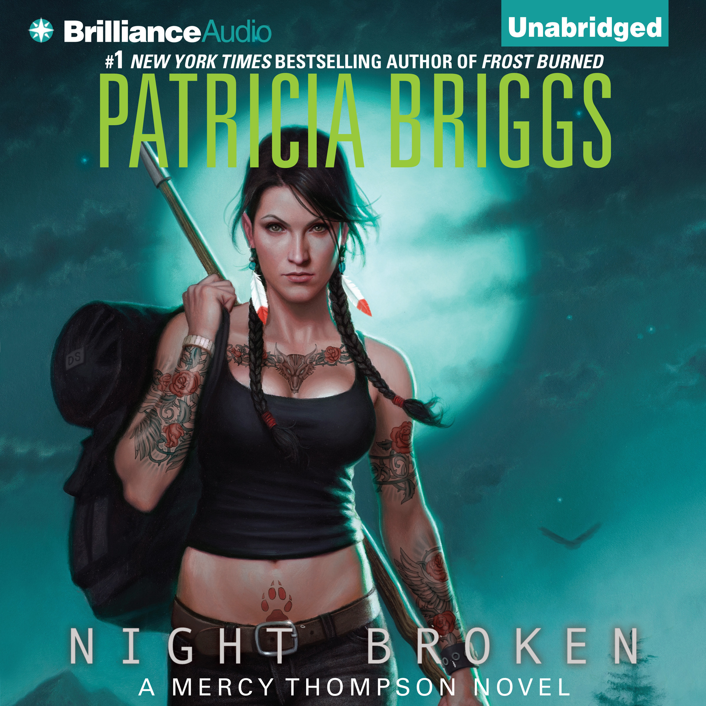 Printable Night Broken Audiobook Cover Art