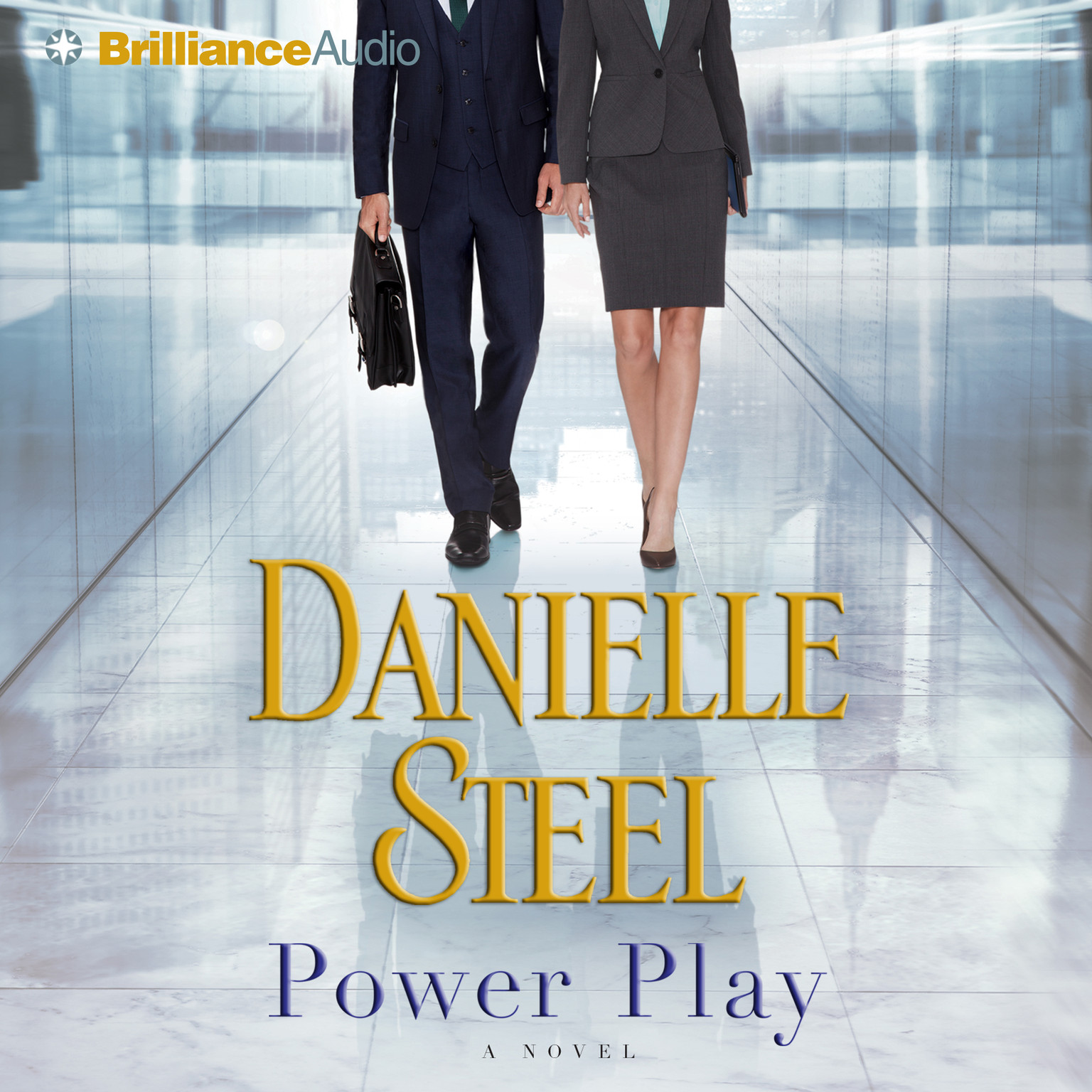 Printable Power Play: A Novel Audiobook Cover Art