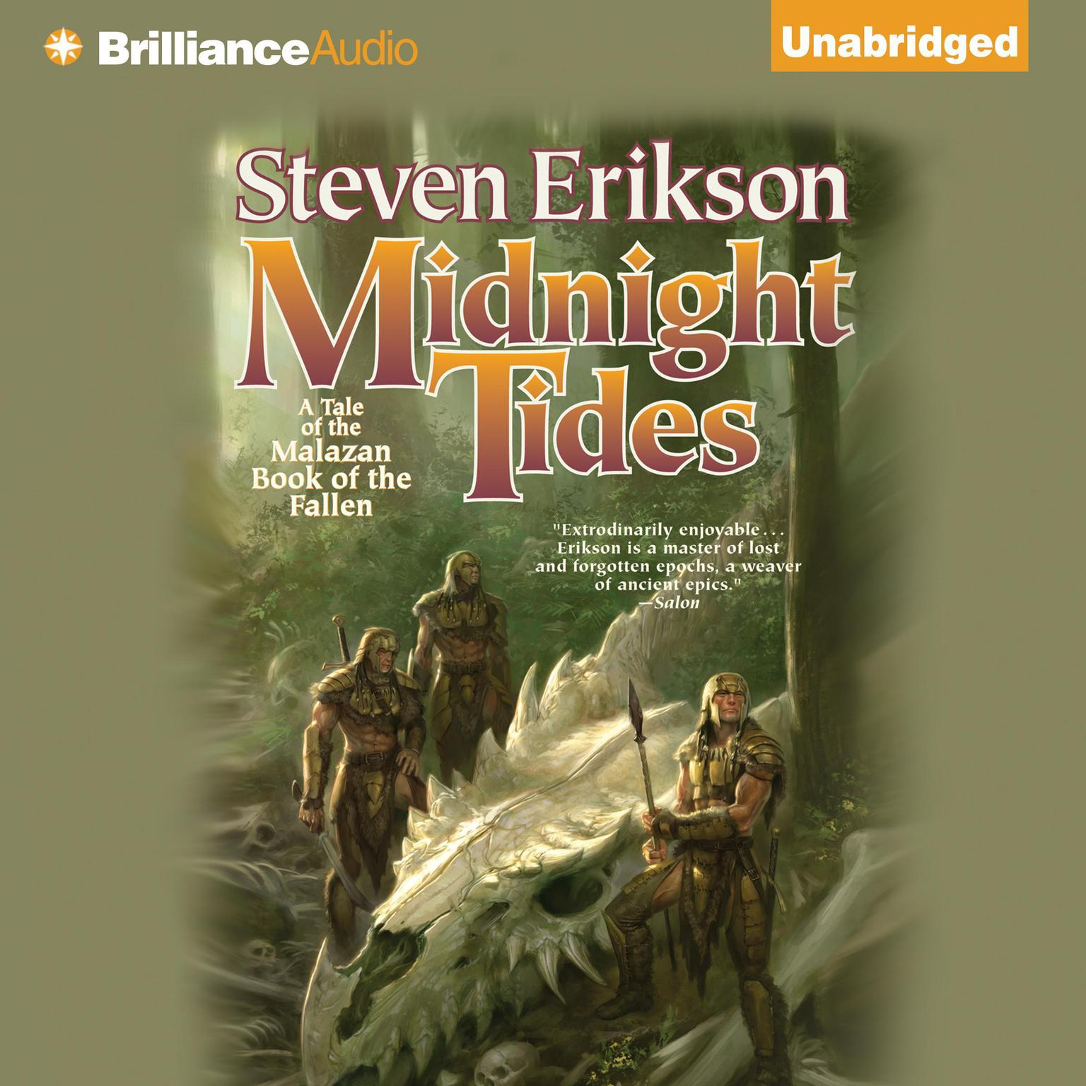 Printable Midnight Tides: A Tale of the Malazan Book of the Fallen Audiobook Cover Art
