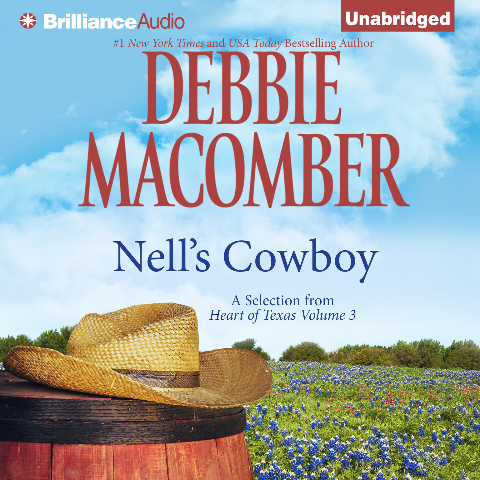 Printable Nell's Cowboy Audiobook Cover Art