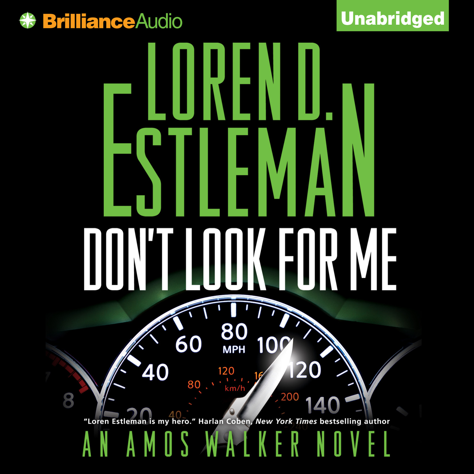 Printable Don't Look for Me Audiobook Cover Art