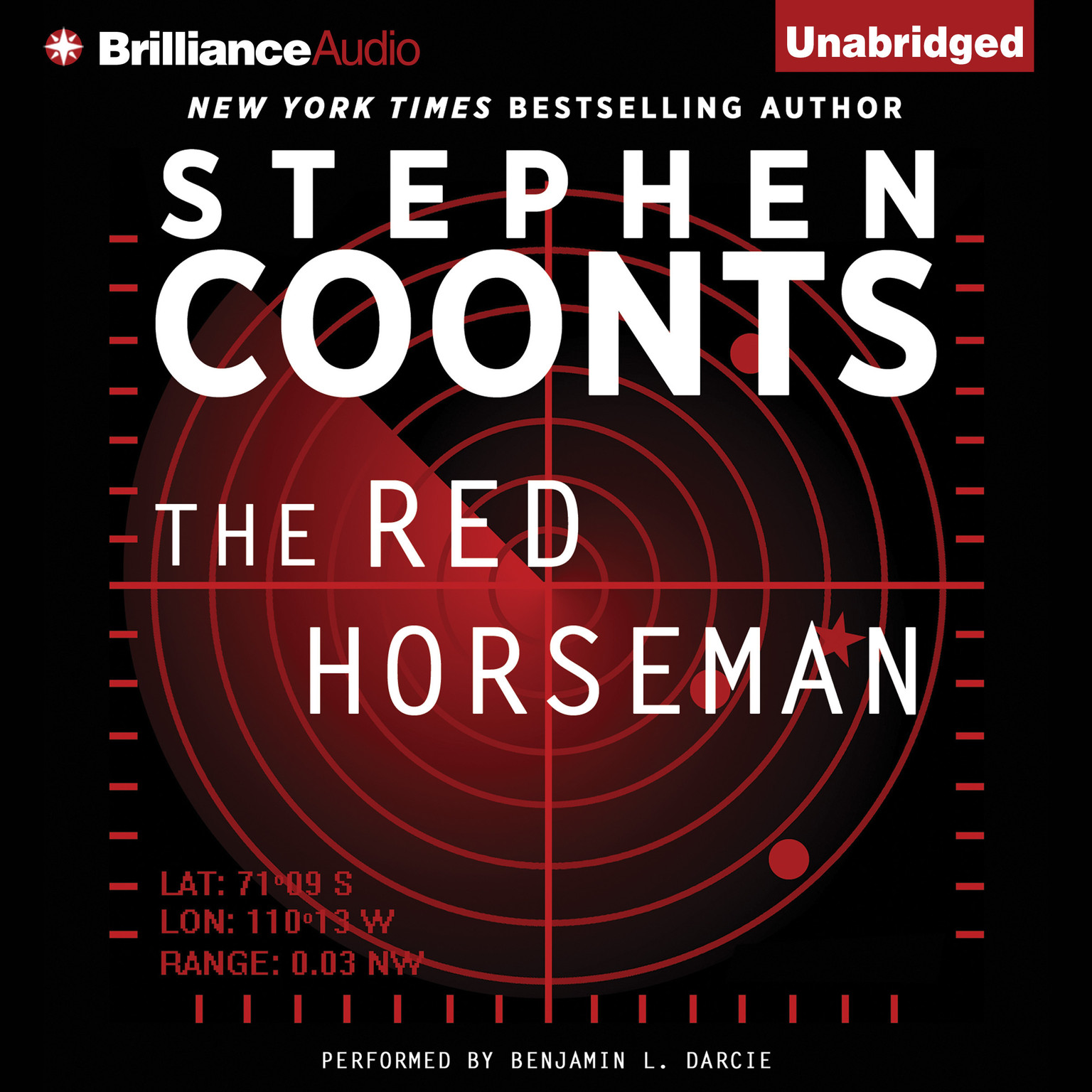 Printable The Red Horseman Audiobook Cover Art