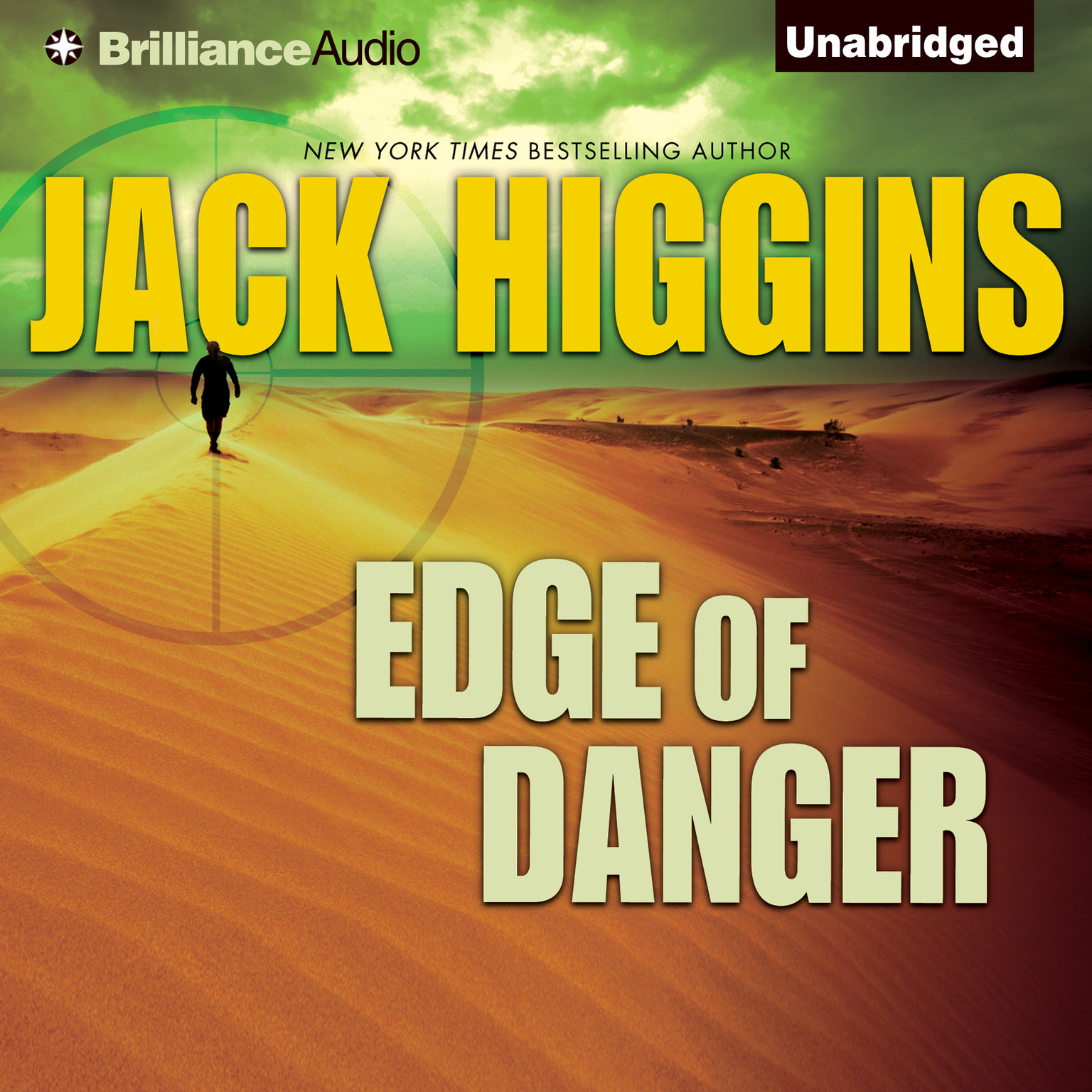 Printable Edge of Danger Audiobook Cover Art