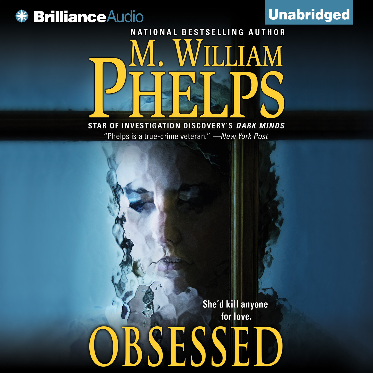 Printable Obsessed Audiobook Cover Art