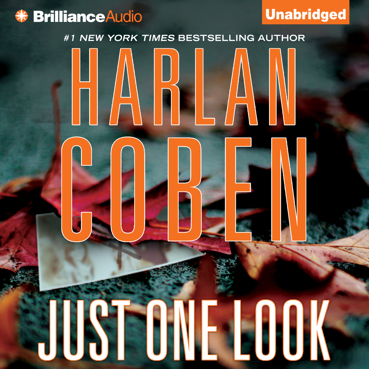 Printable Just One Look Audiobook Cover Art