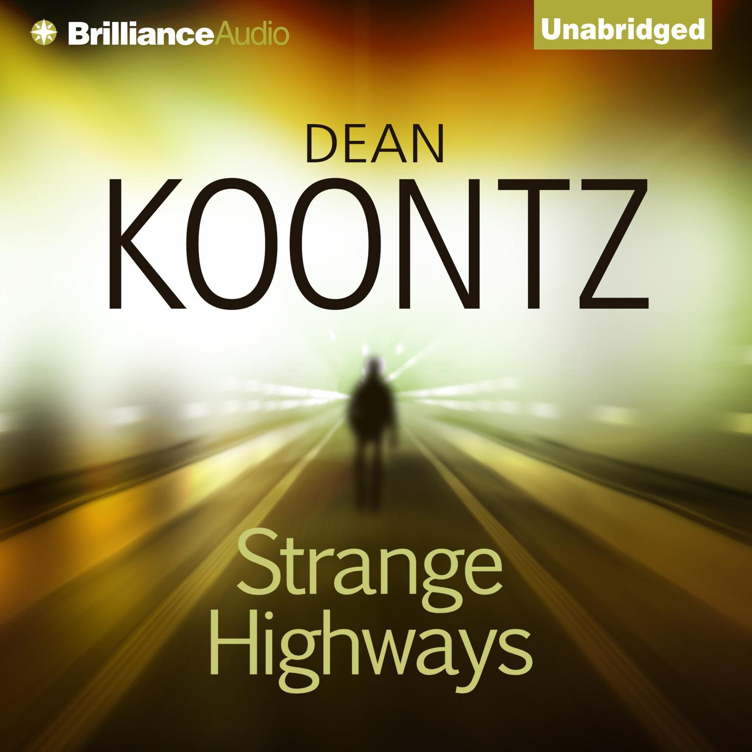 Printable Strange Highways Audiobook Cover Art