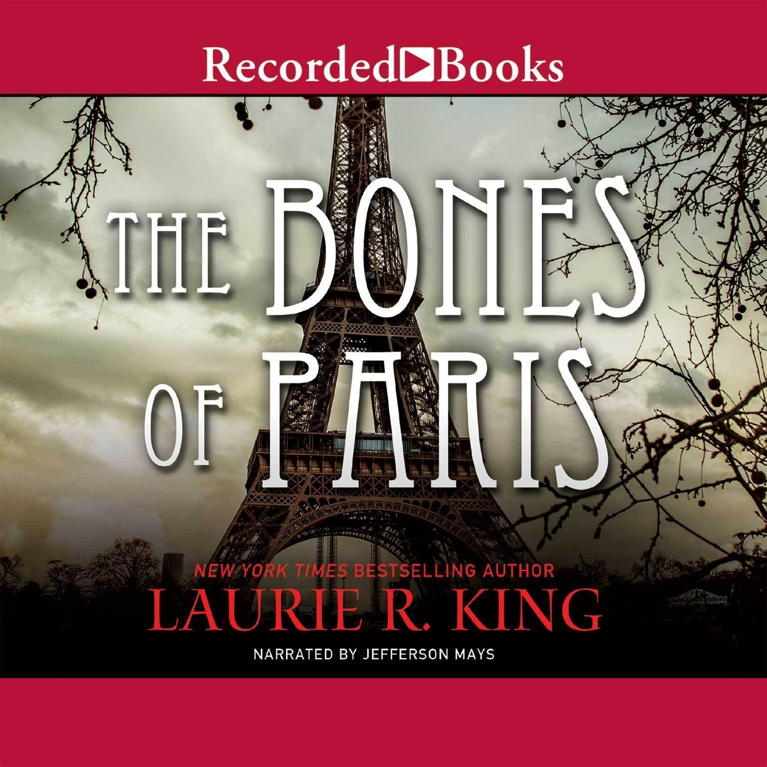 Printable The Bones of Paris Audiobook Cover Art