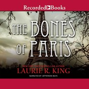 The Bones of Paris Audiobook, by Laurie R. King