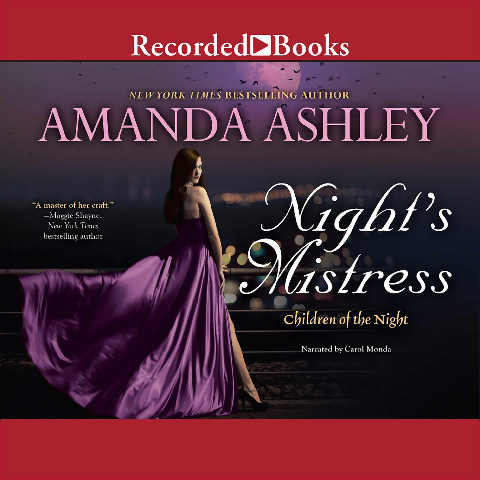Printable Night's Mistress Audiobook Cover Art