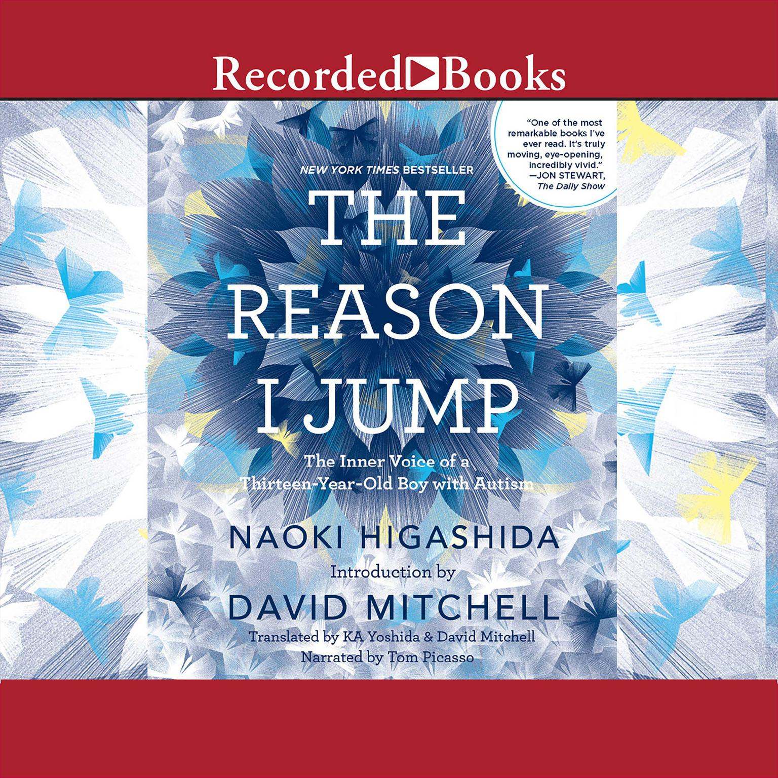 Printable The Reason I Jump: The Inner Voice of a Thirteen-Year-Old Boy with Autism Audiobook Cover Art