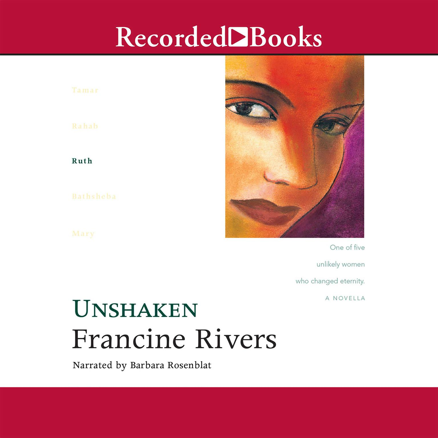 Printable Unshaken: Ruth Audiobook Cover Art