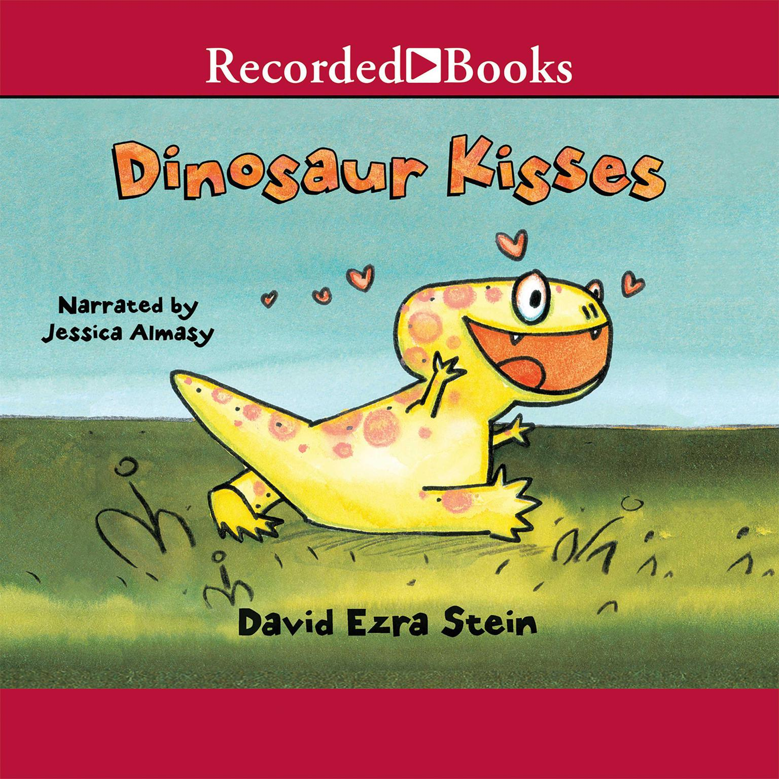 Printable Dinosaur Kisses Audiobook Cover Art