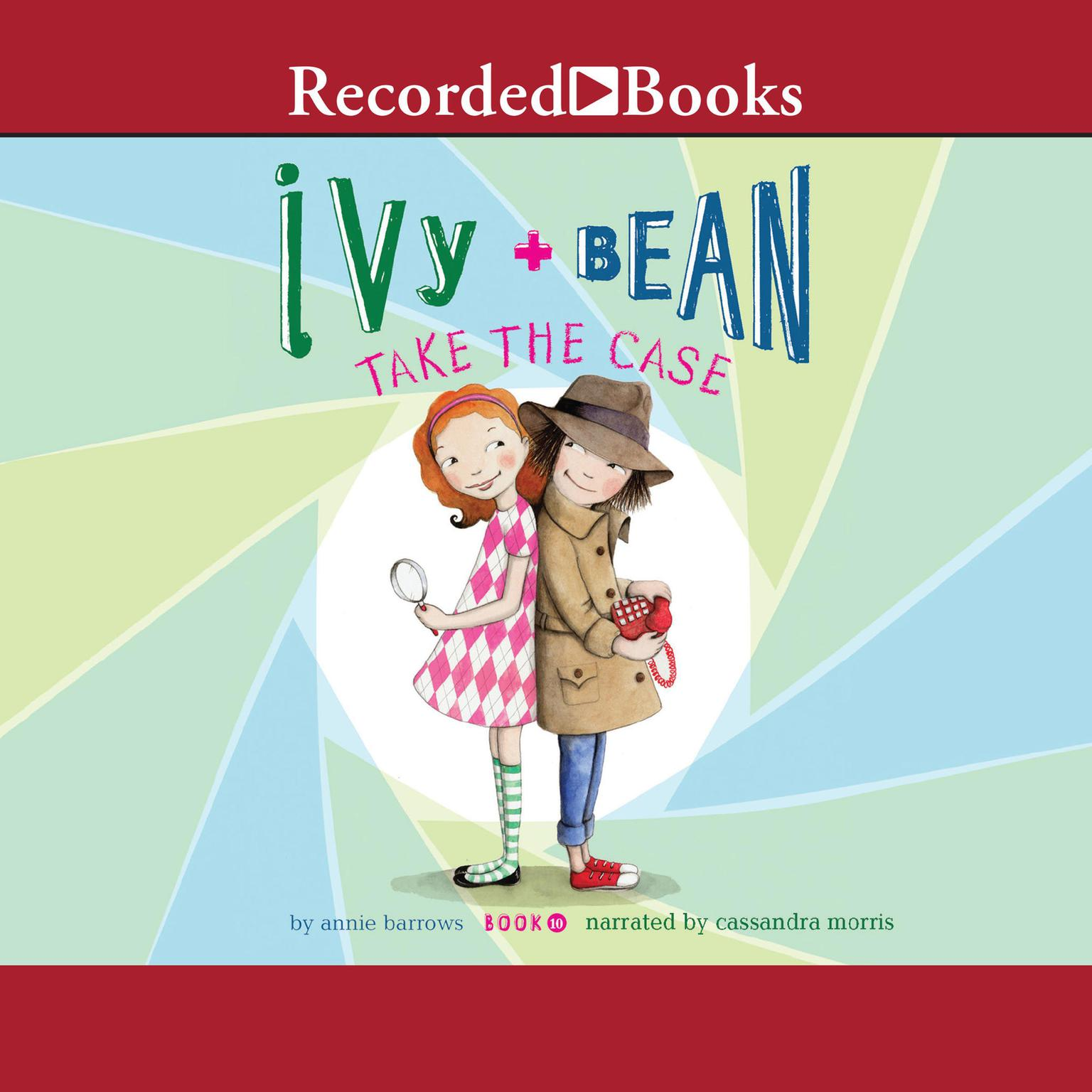Printable Ivy and Bean Take the Case Audiobook Cover Art