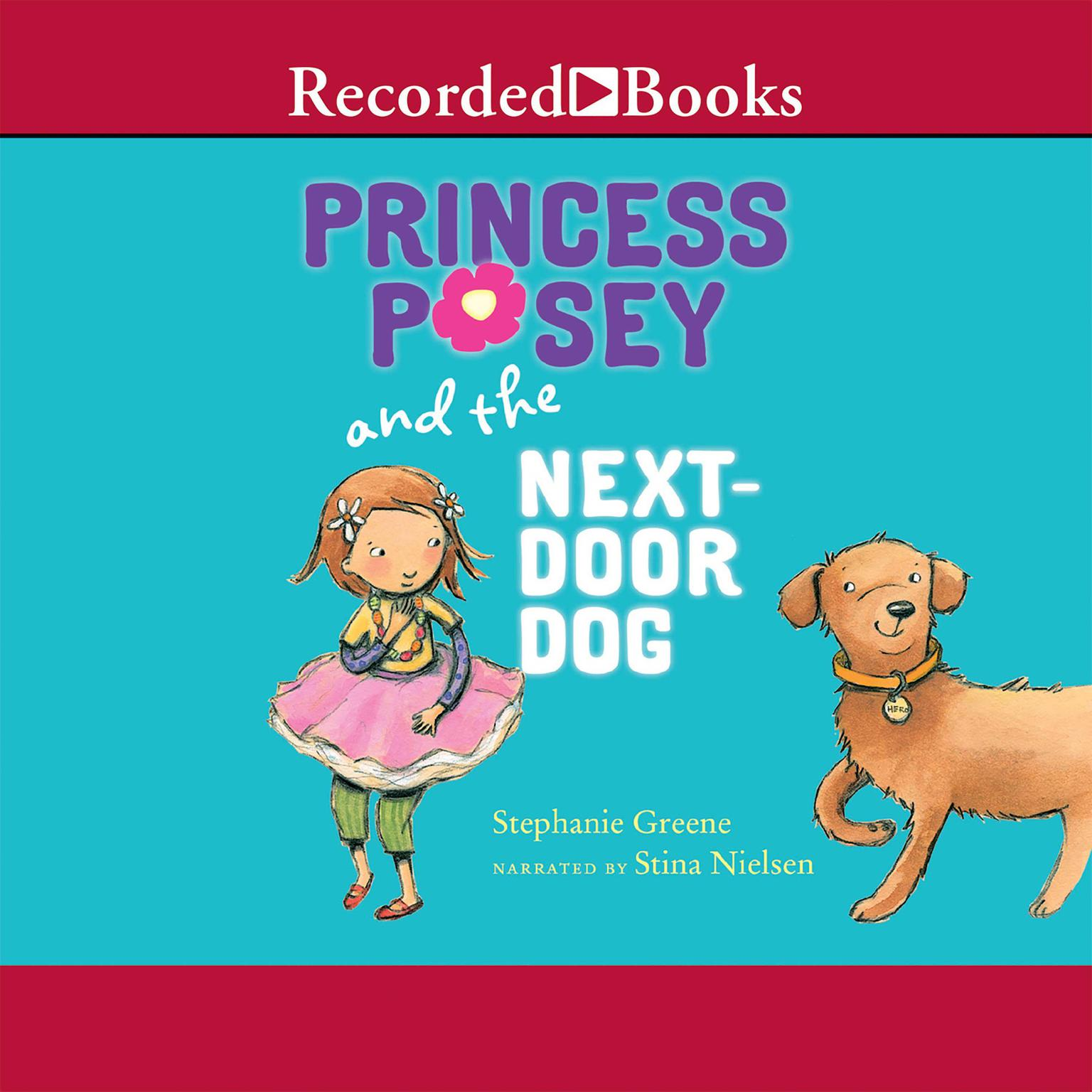 Printable Princess Posey and the Next-Door Dog Audiobook Cover Art