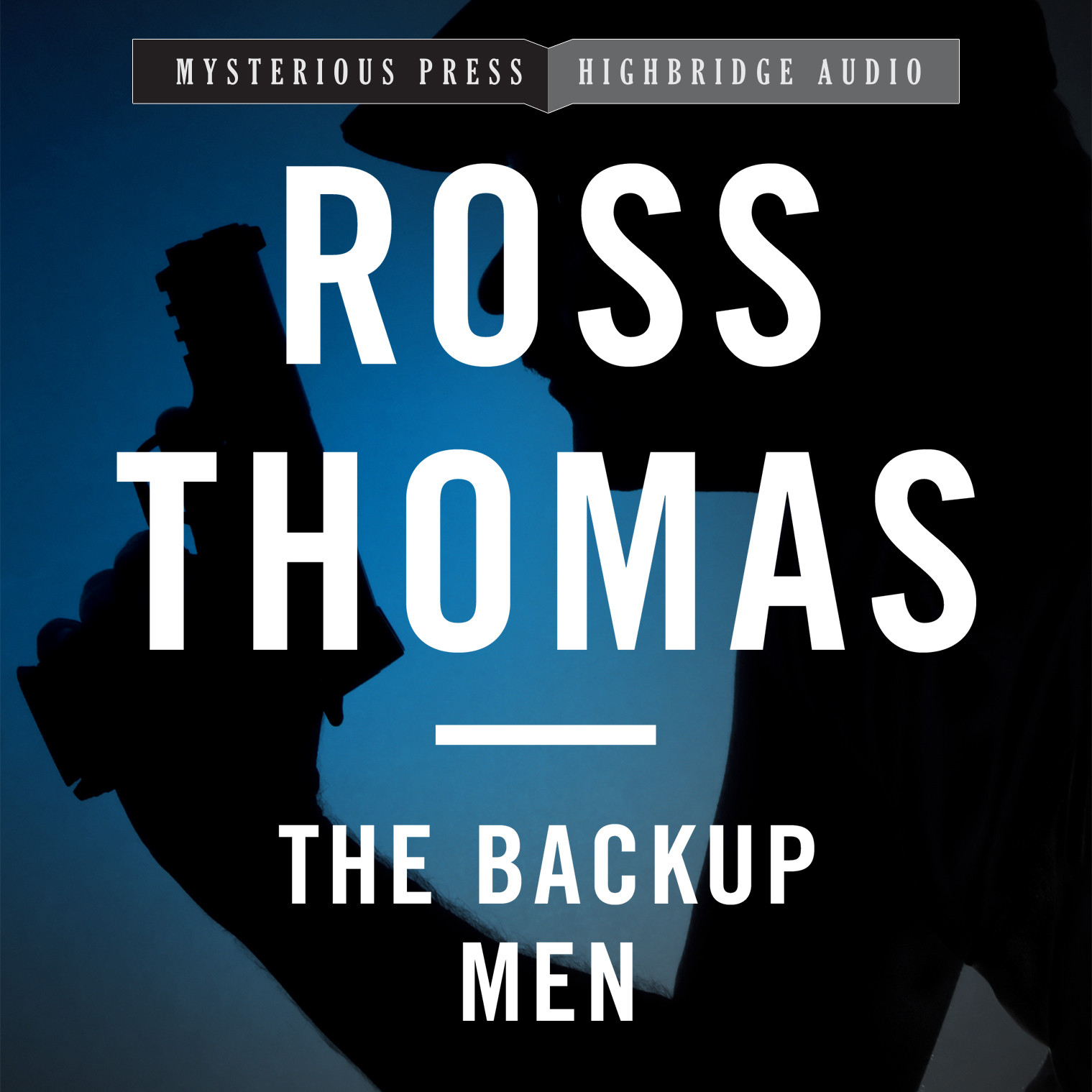Printable The Backup Men Audiobook Cover Art
