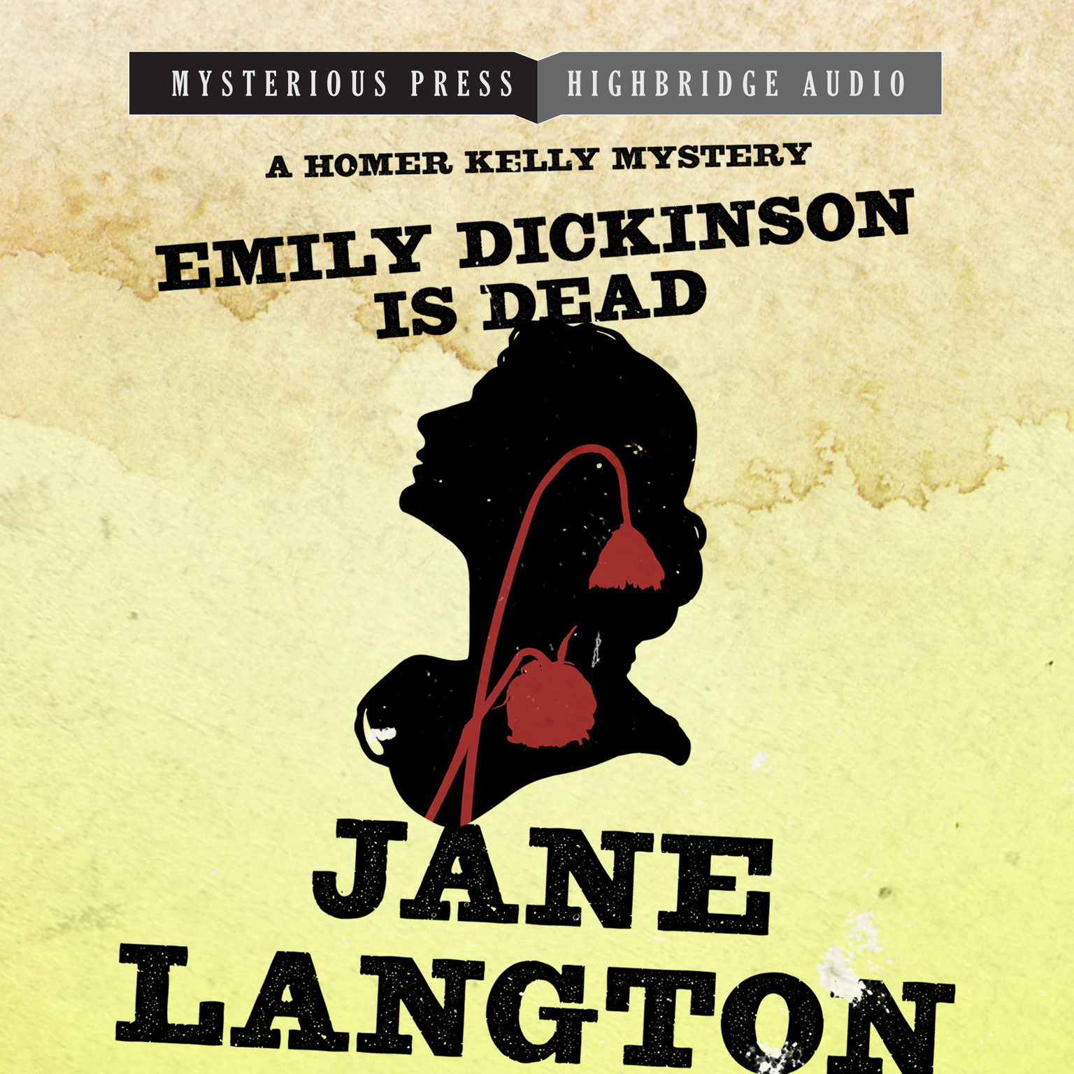 Printable Emily Dickinson Is Dead: A Homer Kelly Mystery Audiobook Cover Art