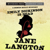Emily Dickinson Is Dead: A Homer Kelly Mystery, by Jane Langton