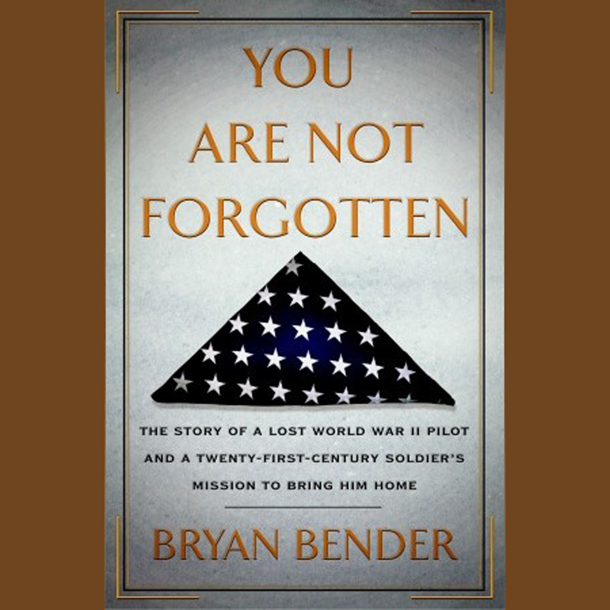Printable You Are Not Forgotten: The Story of a Lost World War II Pilot and a Twenty-First-Century Soldier's Mission to Bring Him Home Audiobook Cover Art