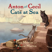 Anton and Cecil: Cats at Sea Audiobook, by Lisa Martin, Valerie Martin