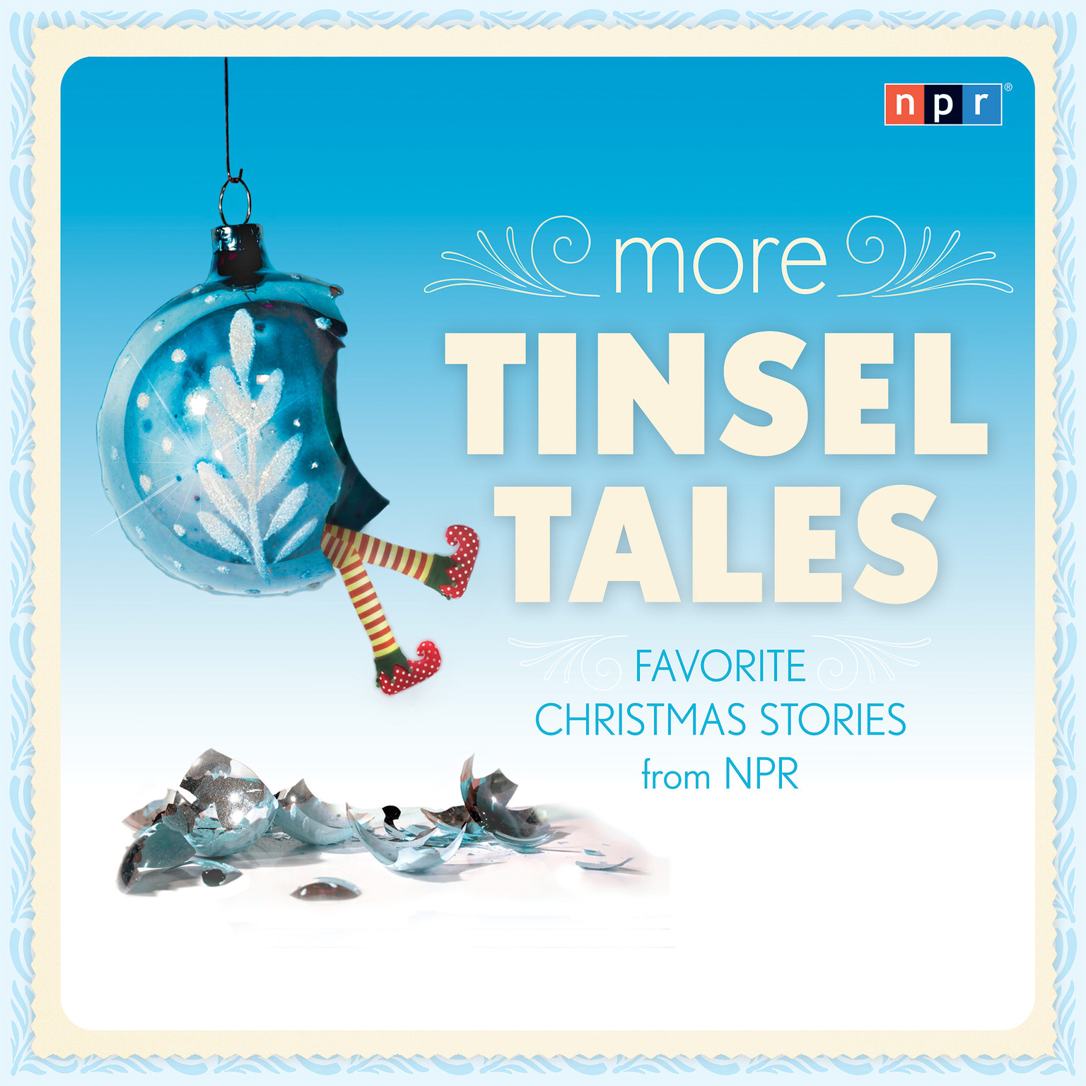 Printable More Tinsel Tales: Favorite Christmas Stories from NPR Audiobook Cover Art