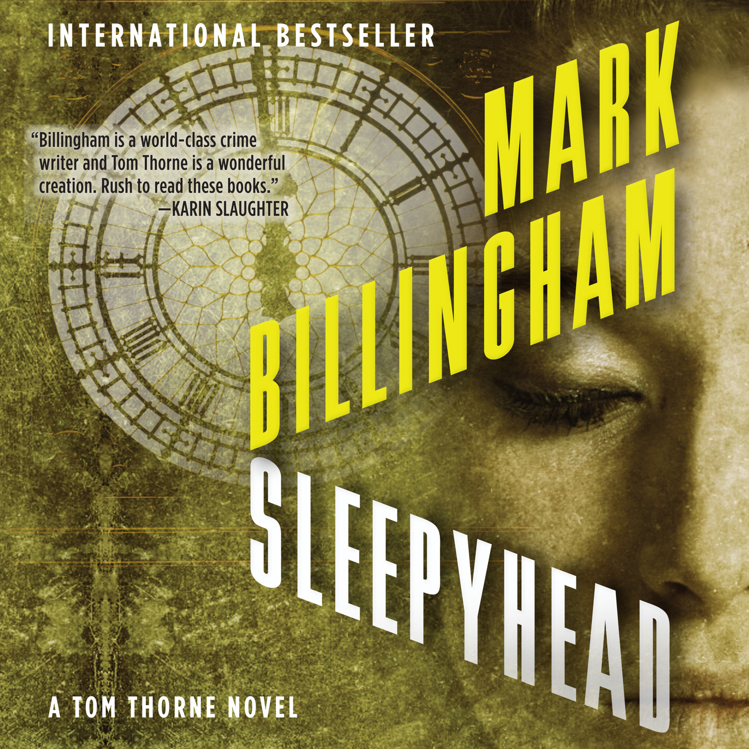 Printable Sleepyhead Audiobook Cover Art