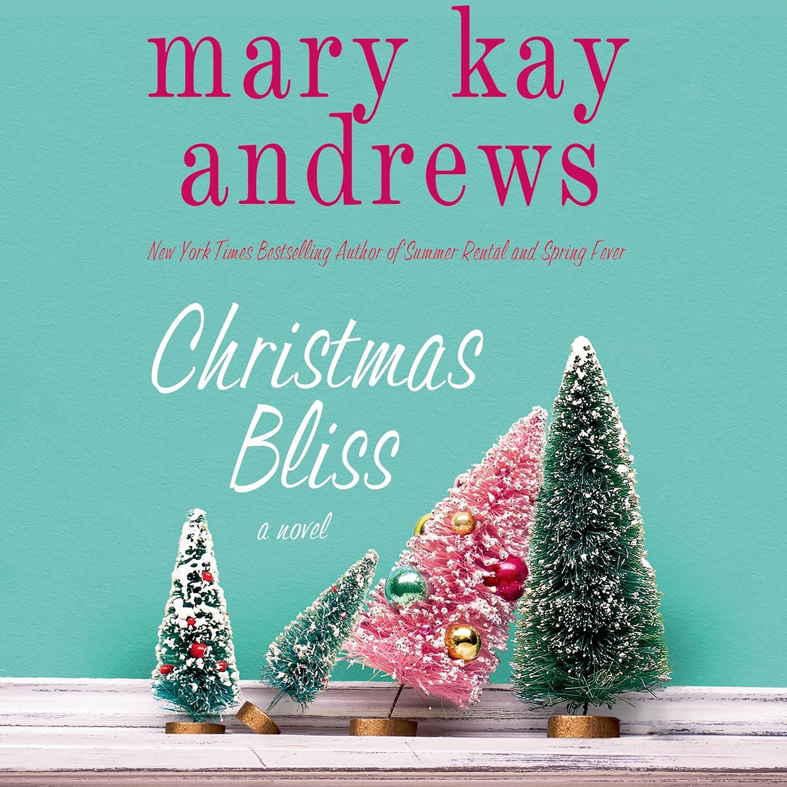 Printable Christmas Bliss: A Novel Audiobook Cover Art