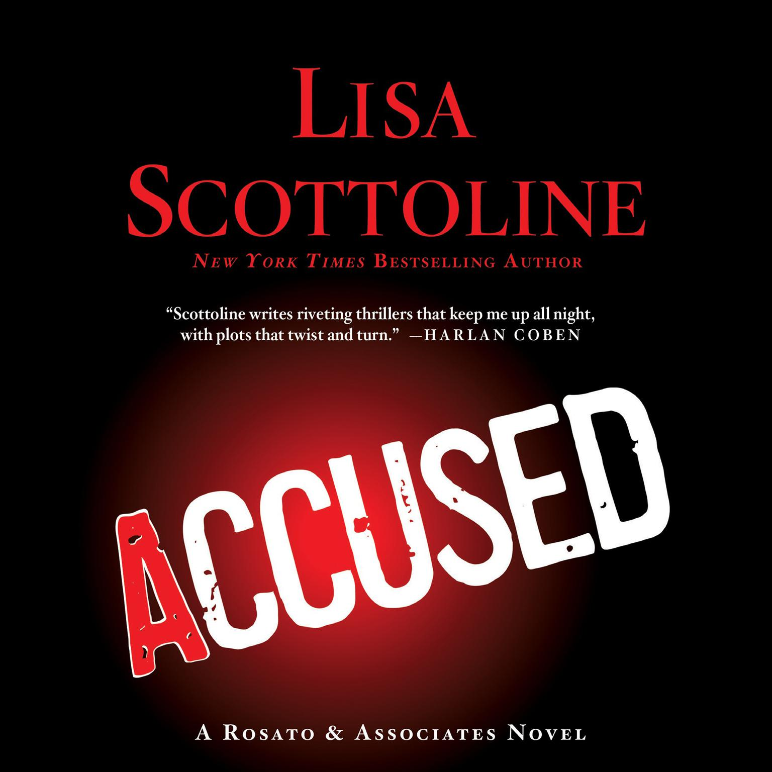 Printable Accused: A Rosato & Associates Novel Audiobook Cover Art