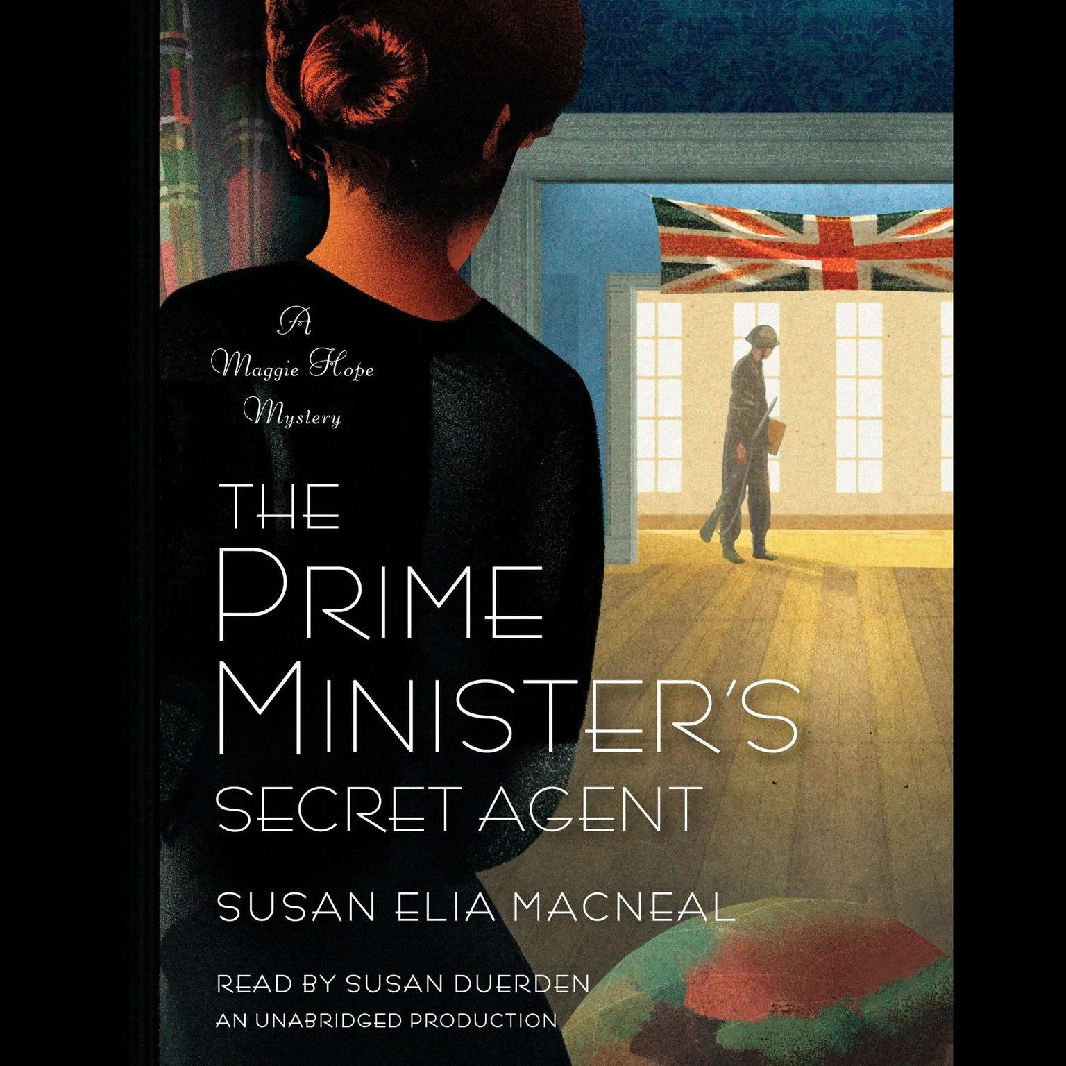 Printable The Prime Minister's Secret Agent: A Maggie Hope Mystery Audiobook Cover Art