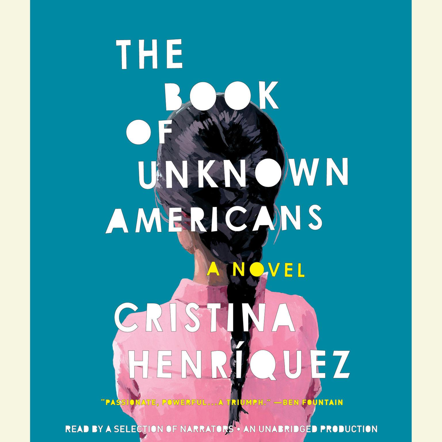 Printable The Book of Unknown Americans: A Novel Audiobook Cover Art
