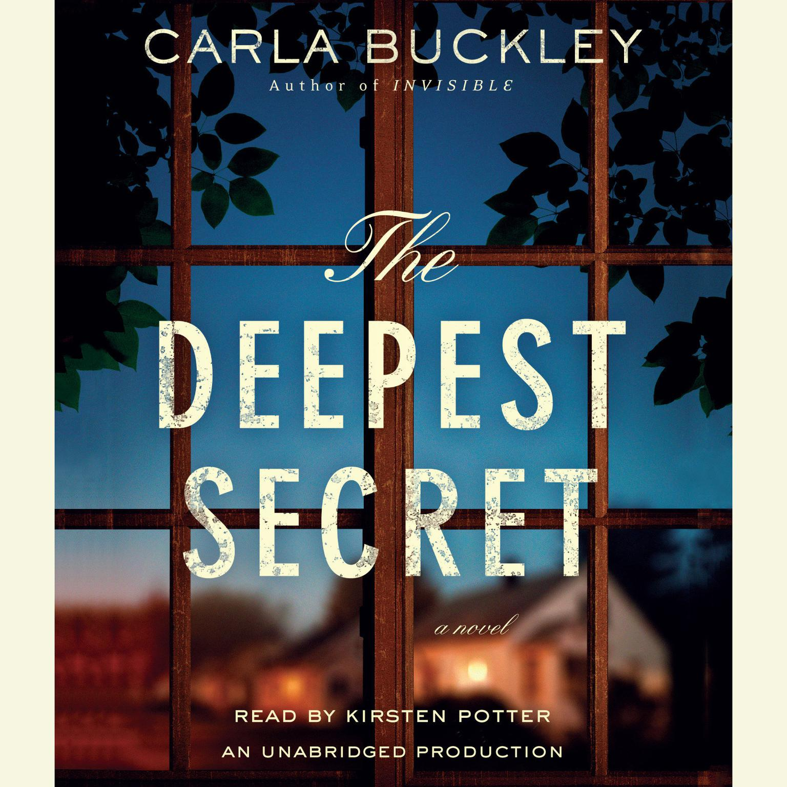 Printable The Deepest Secret: A Novel Audiobook Cover Art