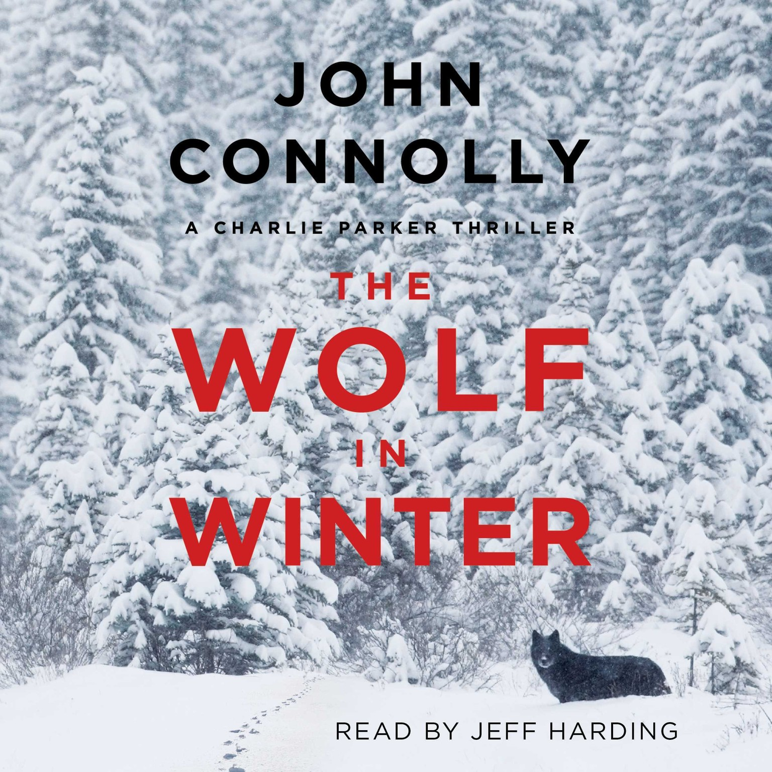 Printable The Wolf in Winter: A Charlie Parker Thriller Audiobook Cover Art