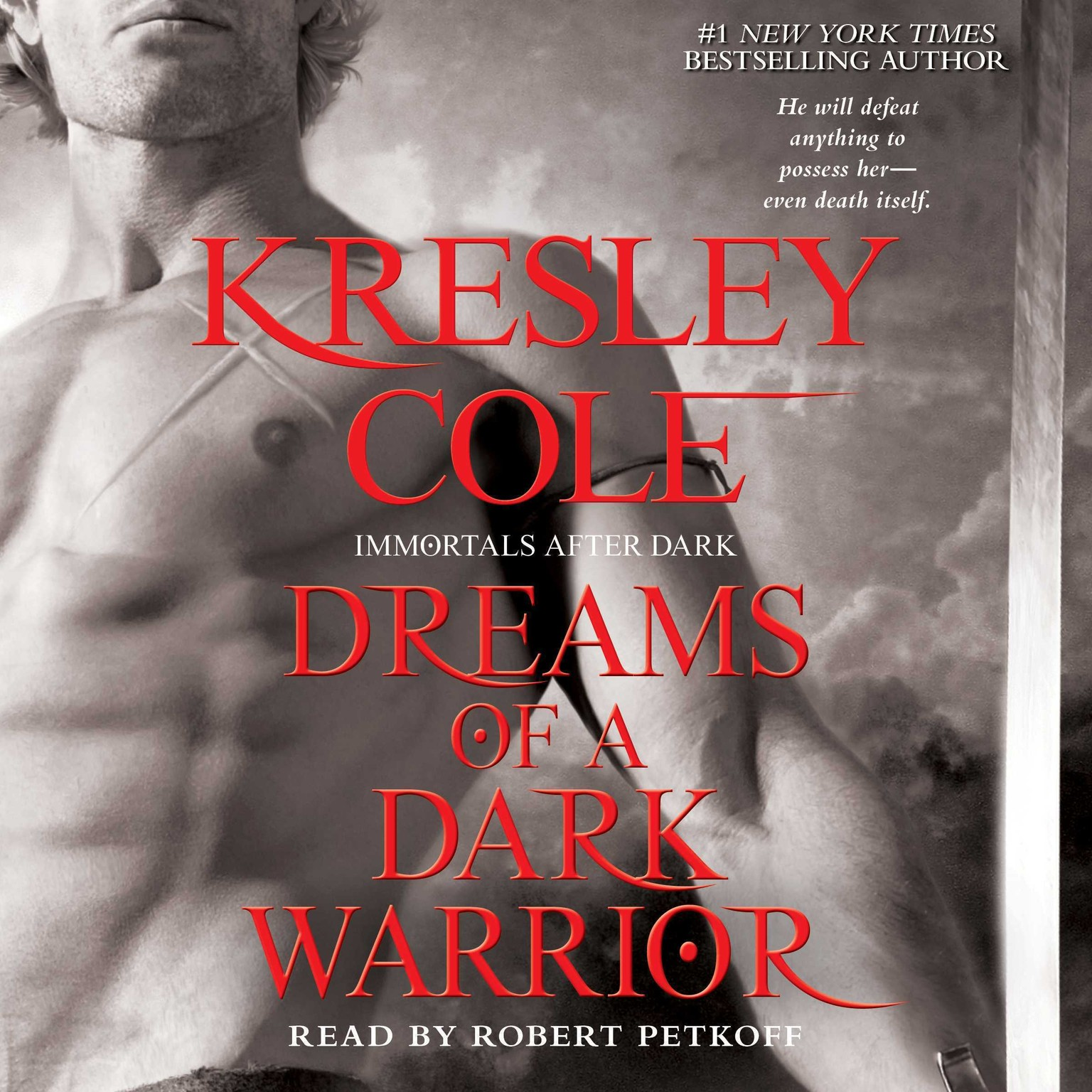 Printable Dreams of a Dark Warrior Audiobook Cover Art