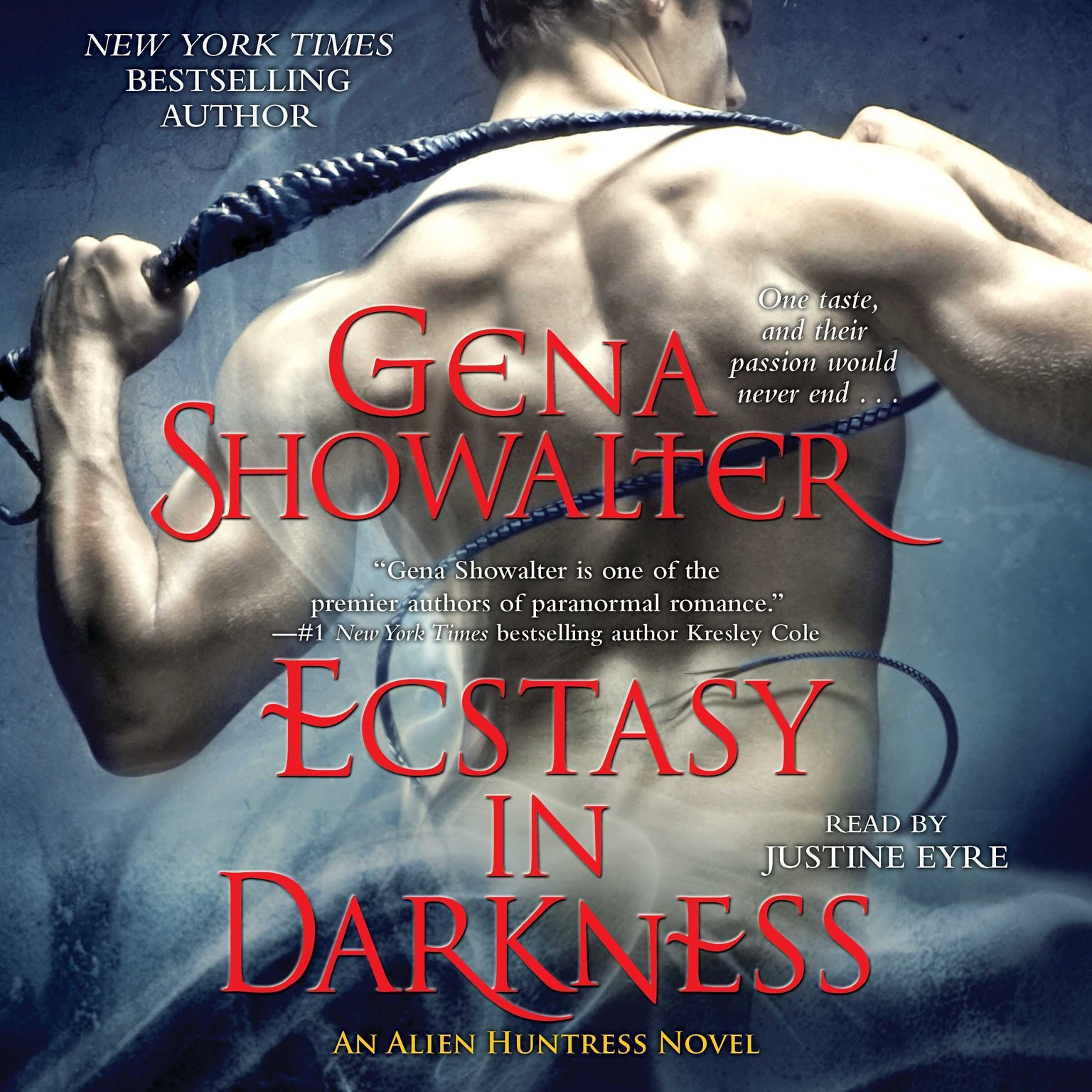 Printable Ecstasy in Darkness Audiobook Cover Art