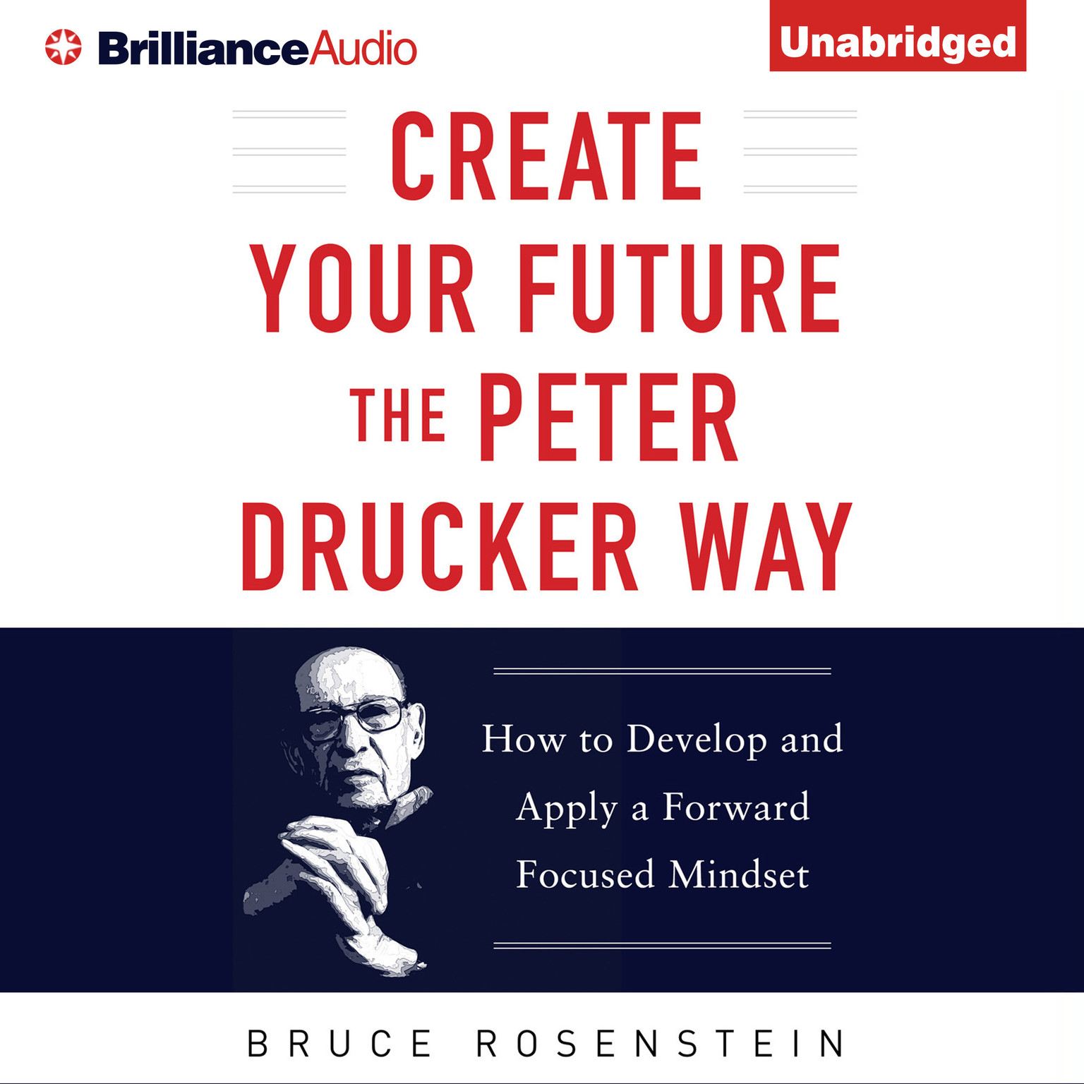 Printable Create Your Future the Peter Drucker Way: Developing and Applying a Forward-Focused Mindset Audiobook Cover Art
