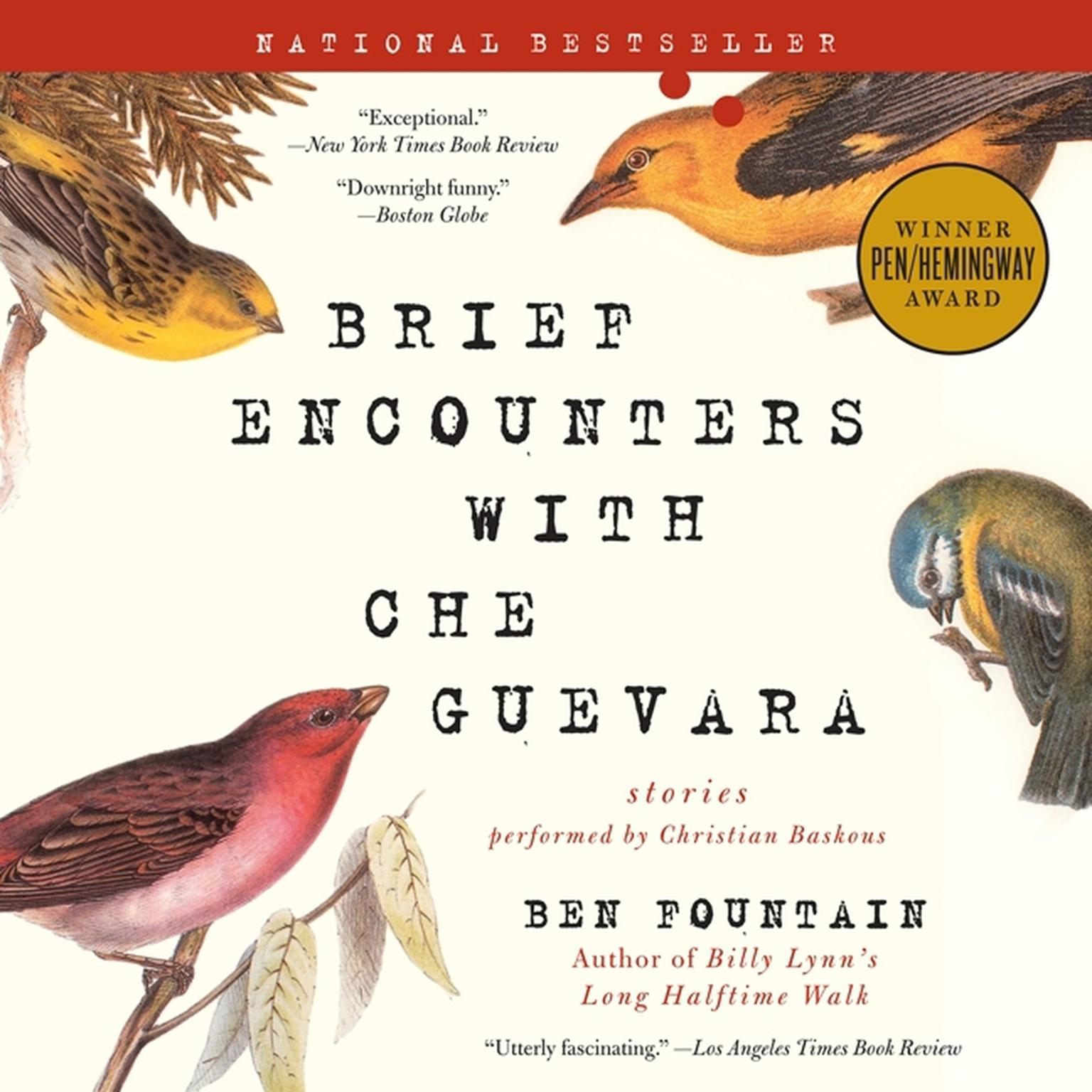 Printable Brief Encounters with Che Guevara: Stories Audiobook Cover Art