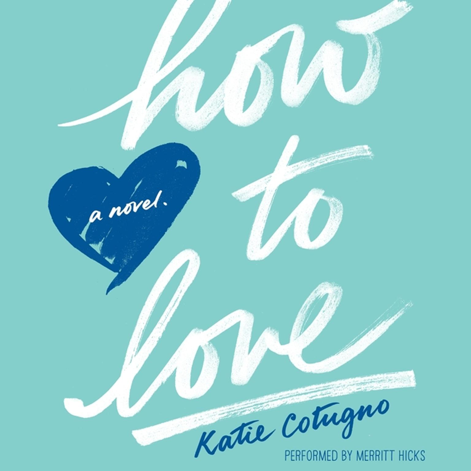 Printable How to Love Audiobook Cover Art