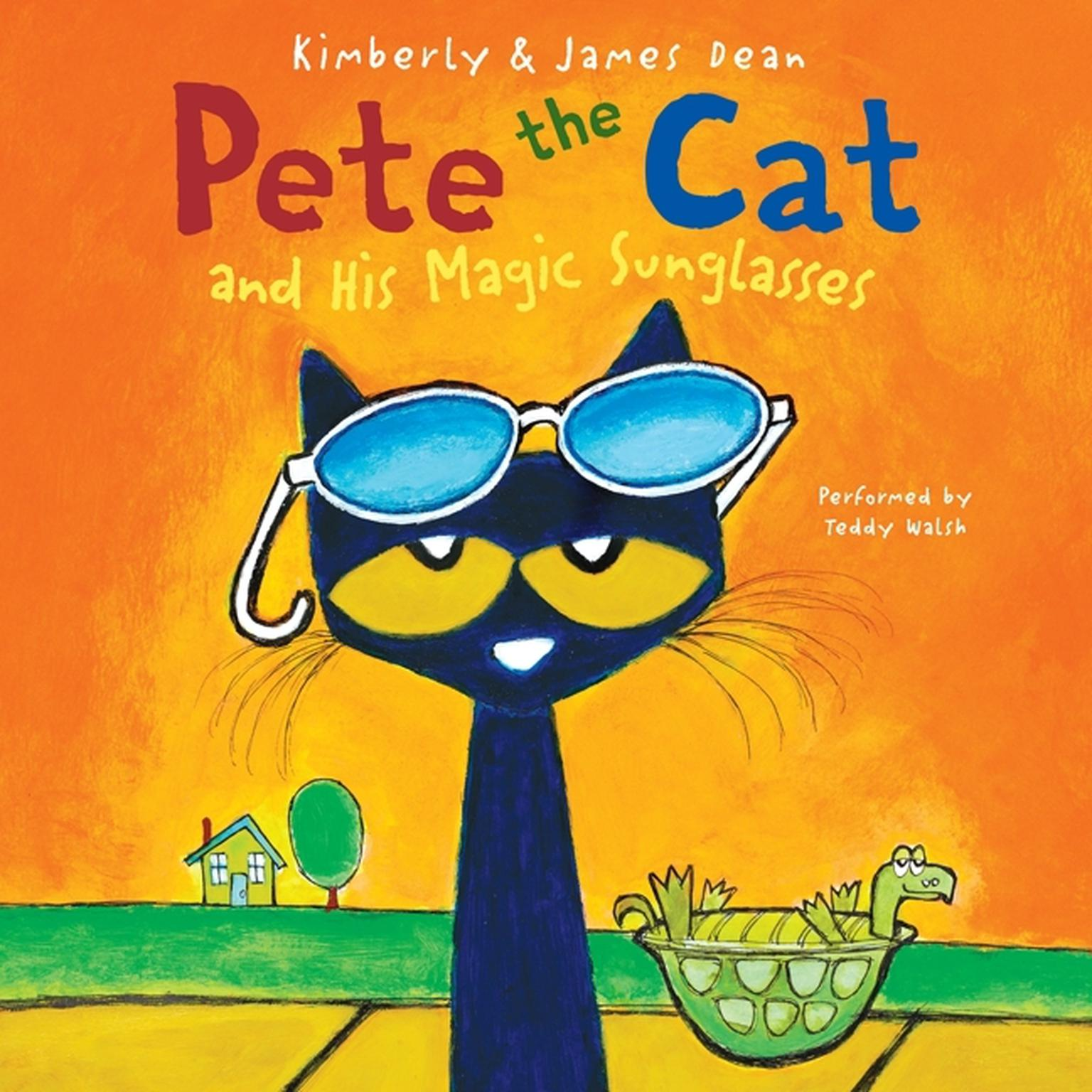 Printable Pete the Cat and His Magic Sunglasses Audiobook Cover Art