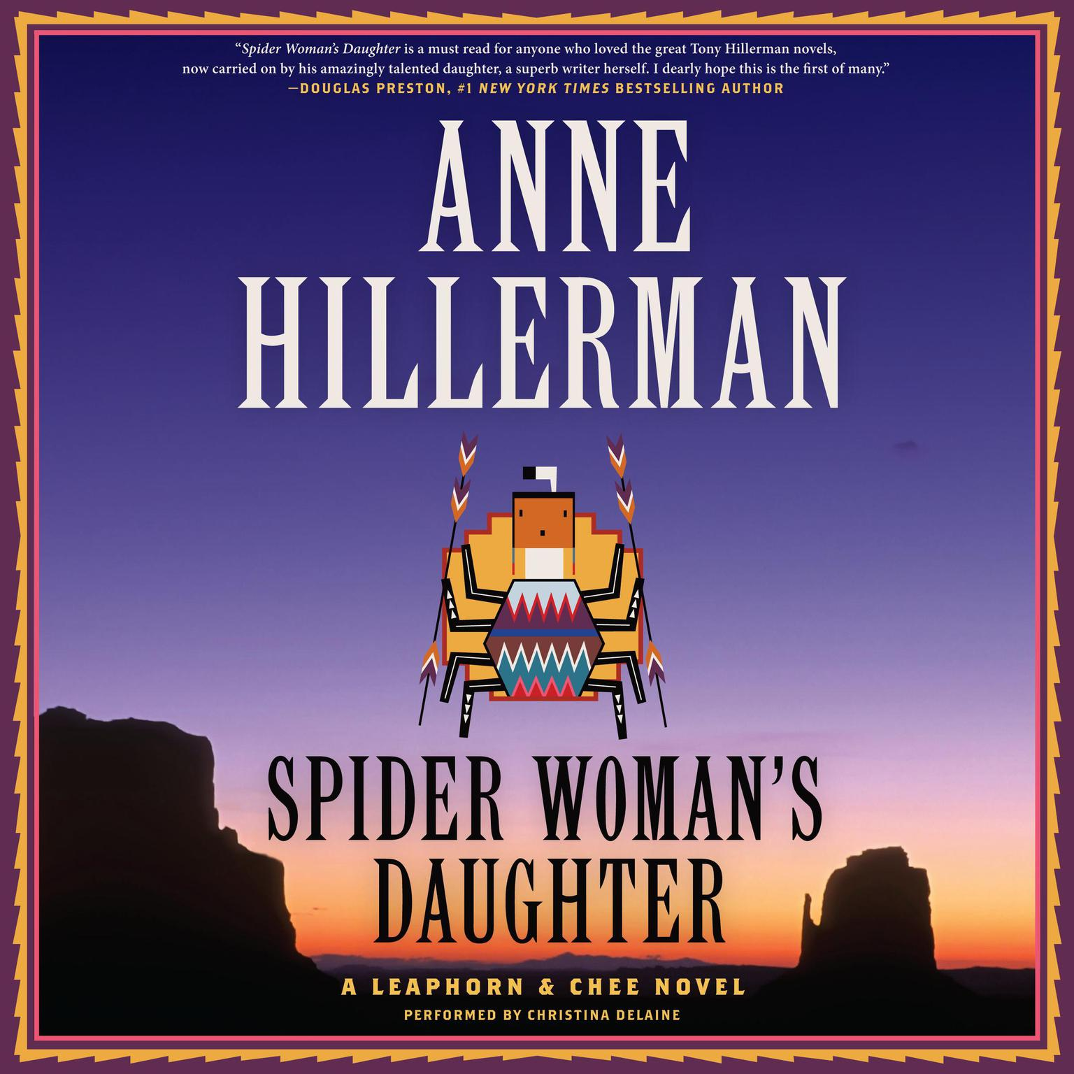Printable Spider Woman's Daughter: A Leaphorn & Chee Novel Audiobook Cover Art