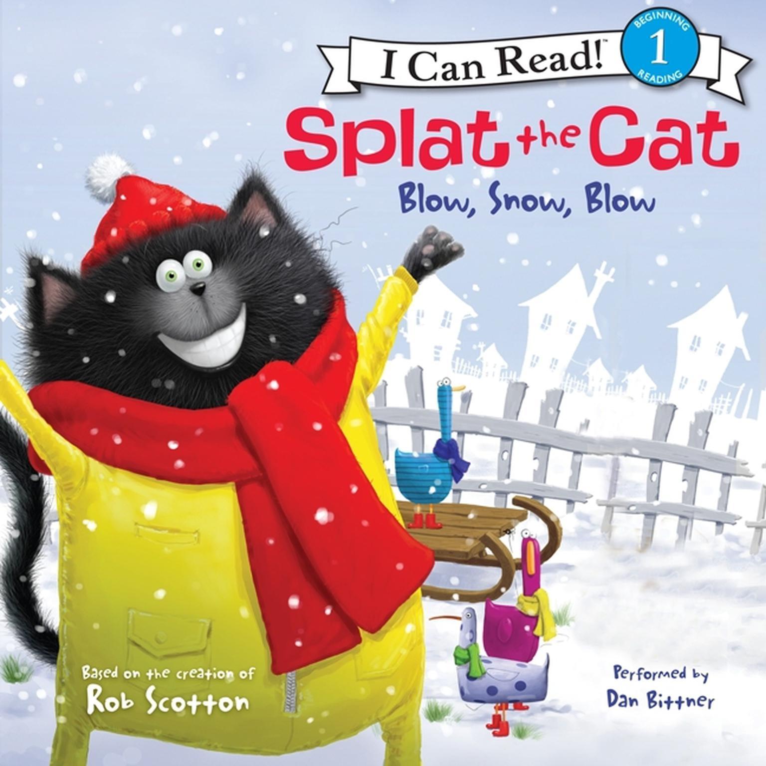 Printable Blow, Snow, Blow Audiobook Cover Art
