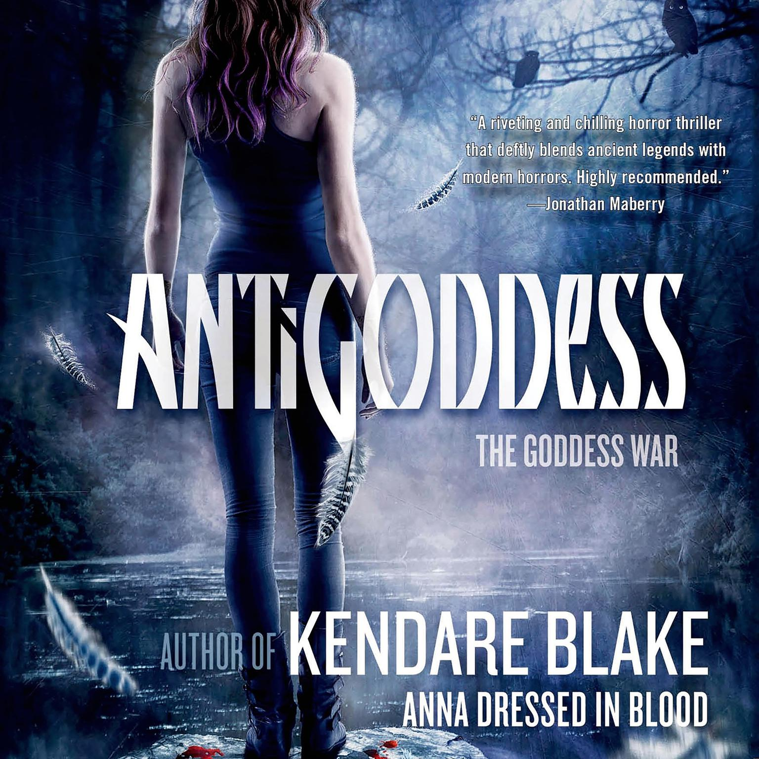Printable Antigoddess Audiobook Cover Art