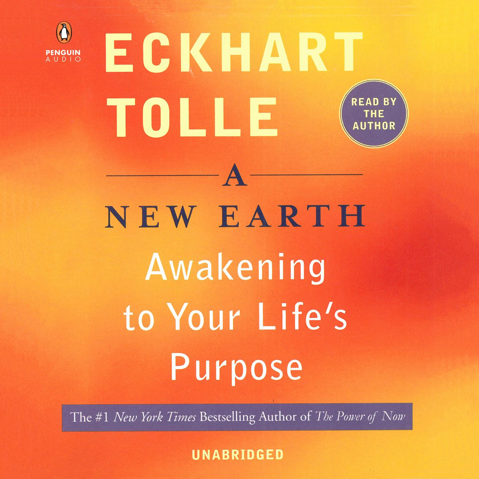 Printable A New Earth: Awakening Your Life's Purpose Audiobook Cover Art
