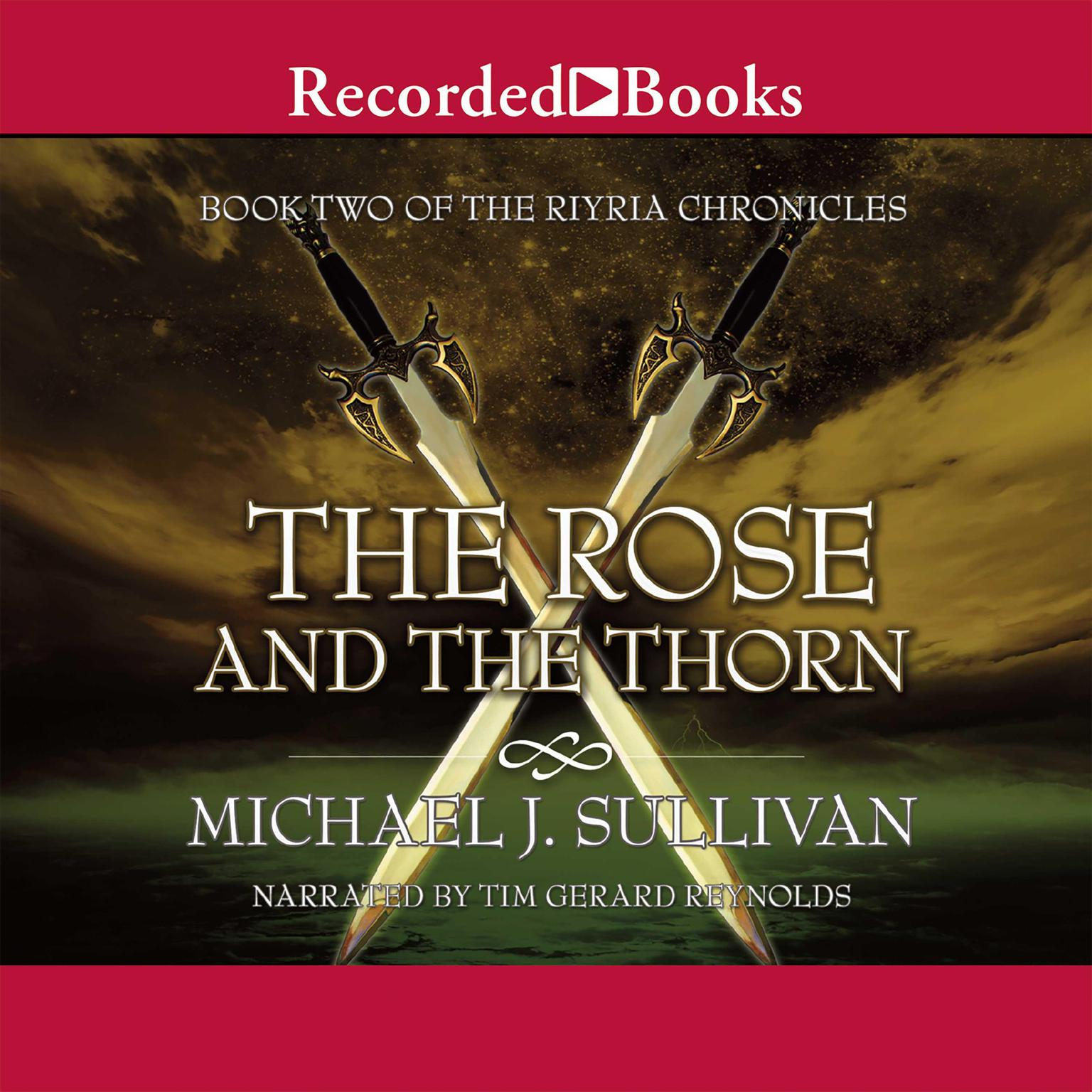 Printable The Rose and the Thorn Audiobook Cover Art