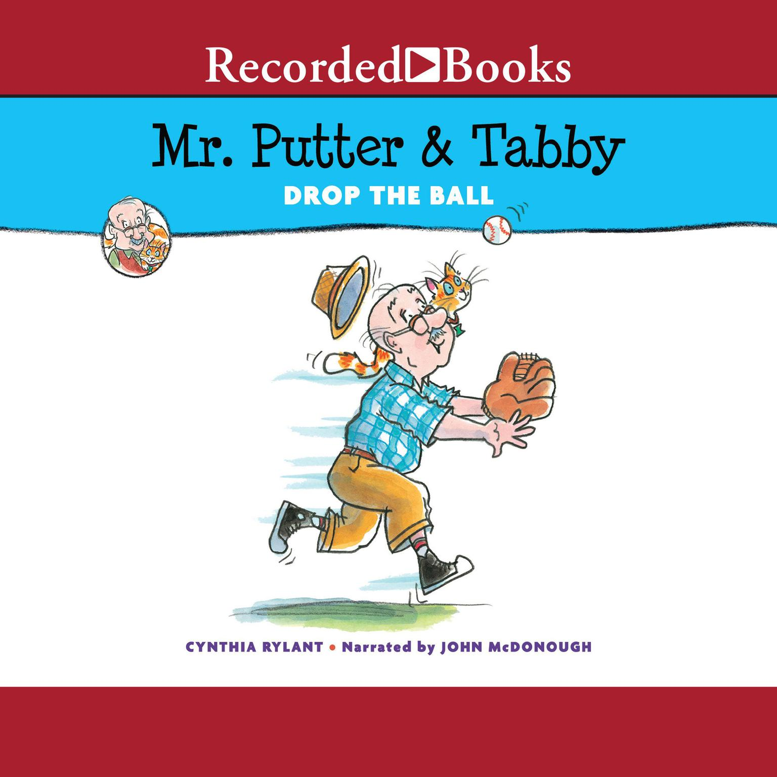 Printable Mr. Putter & Tabby Drop the Ball Audiobook Cover Art