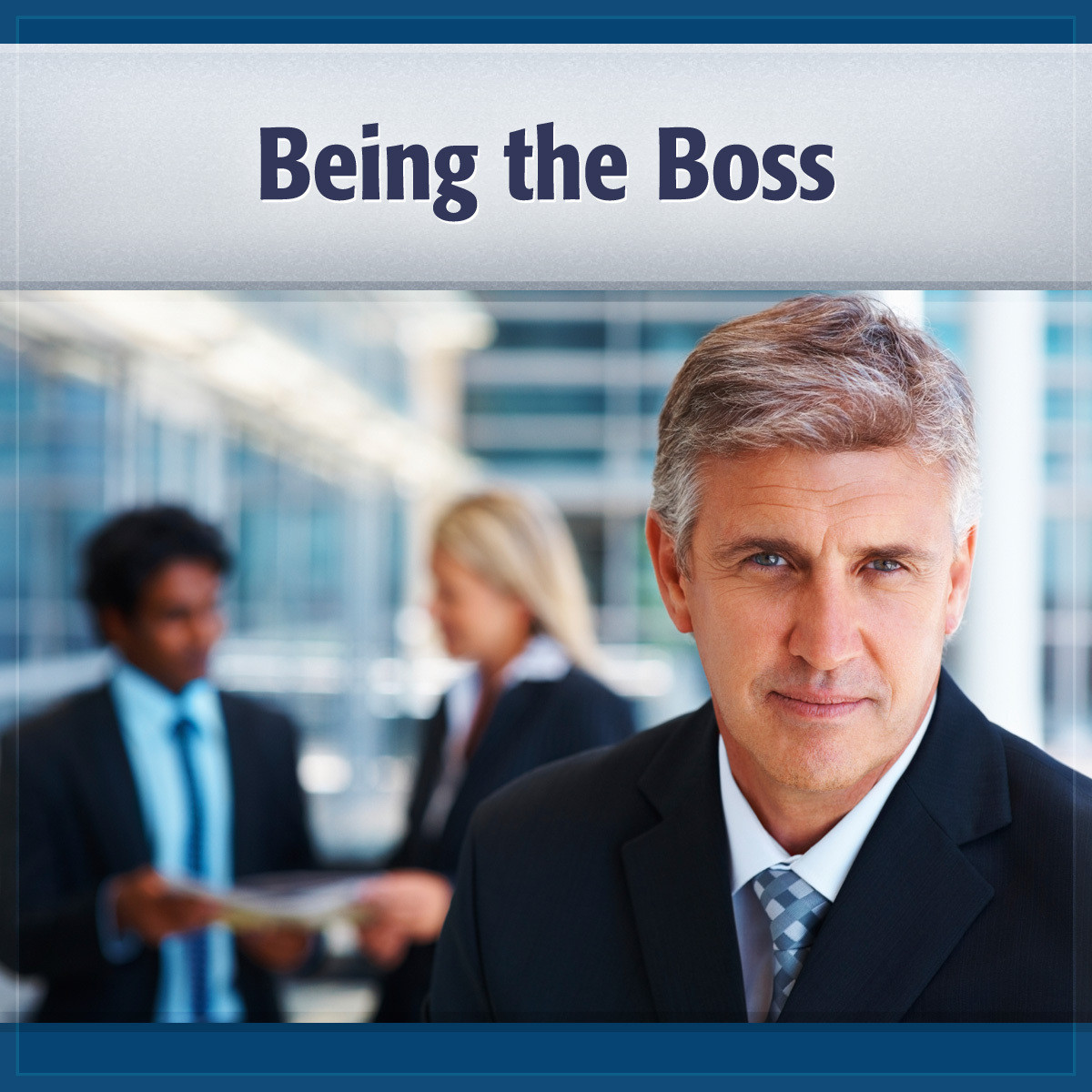 Printable Being the Boss: Get the Work Done Audiobook Cover Art