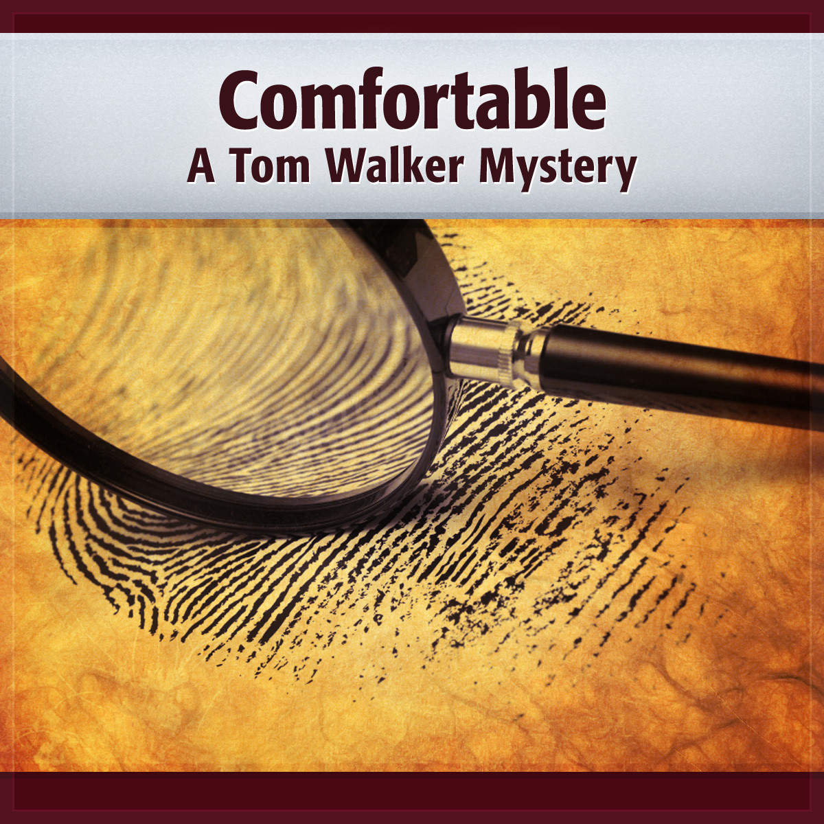 Printable Comfortable: A Tom Walker Mystery Audiobook Cover Art