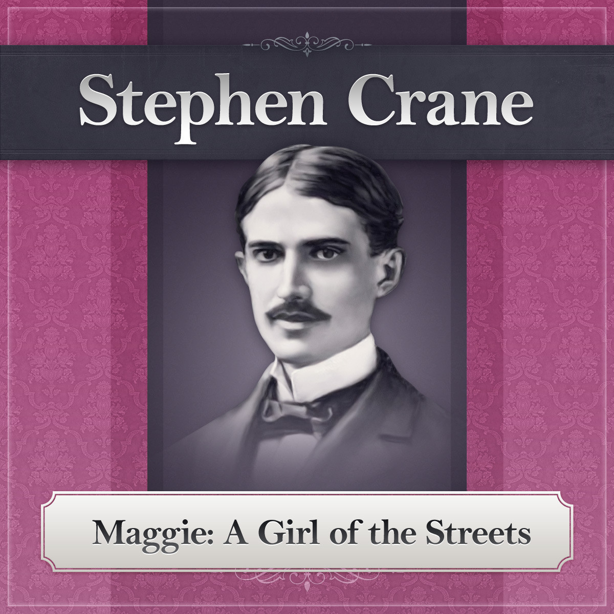 Printable Maggie: A Girl of the Streets: A Stephen Crane Novel Audiobook Cover Art